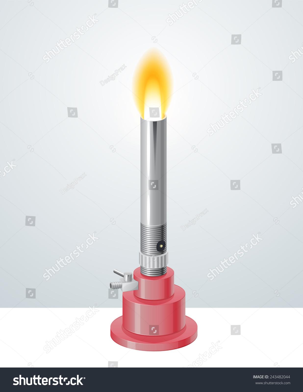 Bunsen burner photo