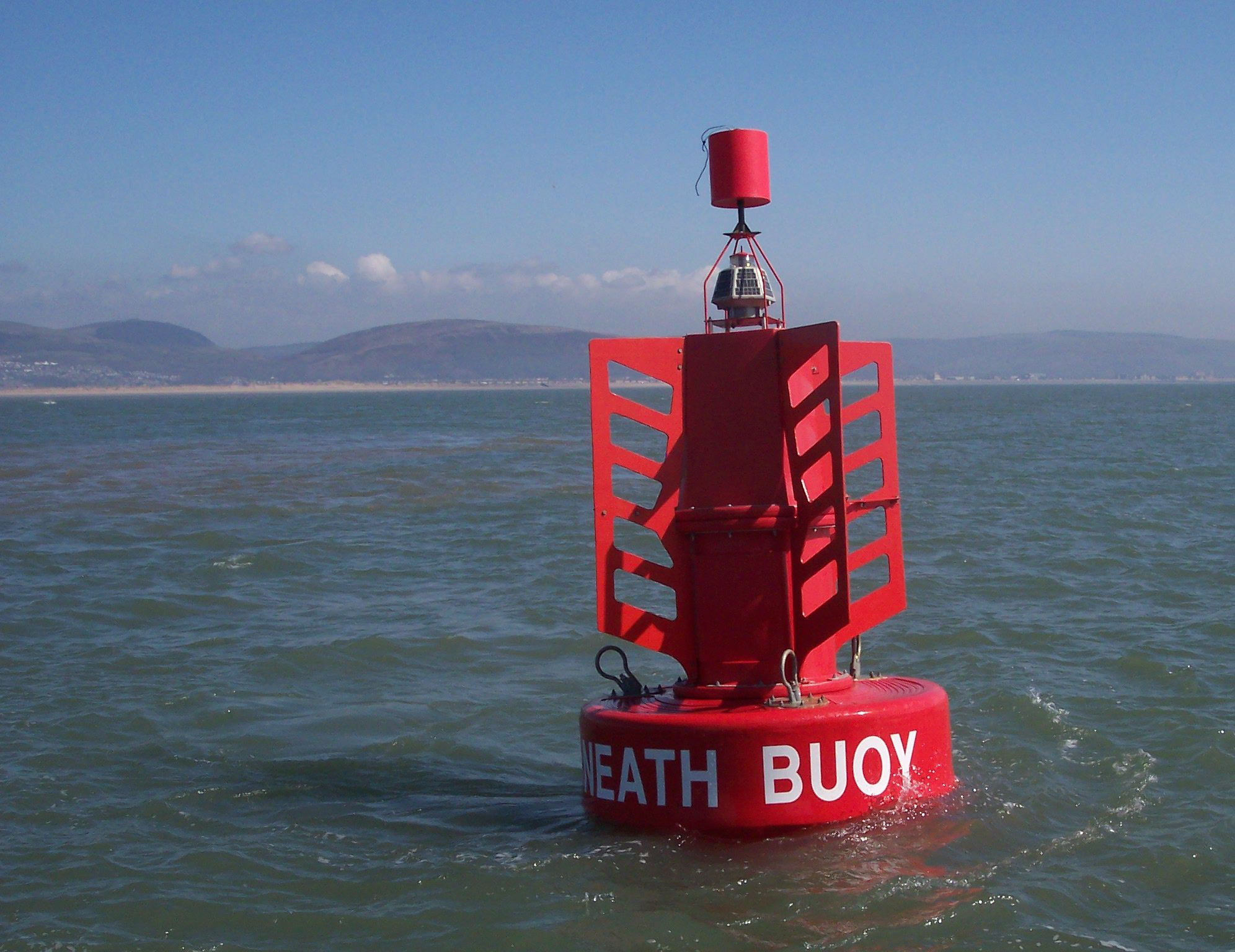 Buoy marking the channel into the Port of Neath | BUOYAGE SYSTEM ...