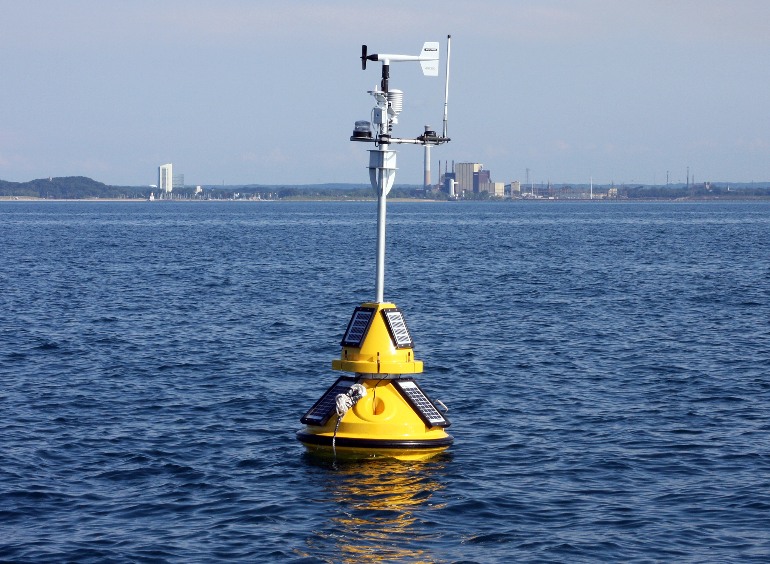 New buoy offers real-time Lake Michigan data in Indiana - Purdue ...