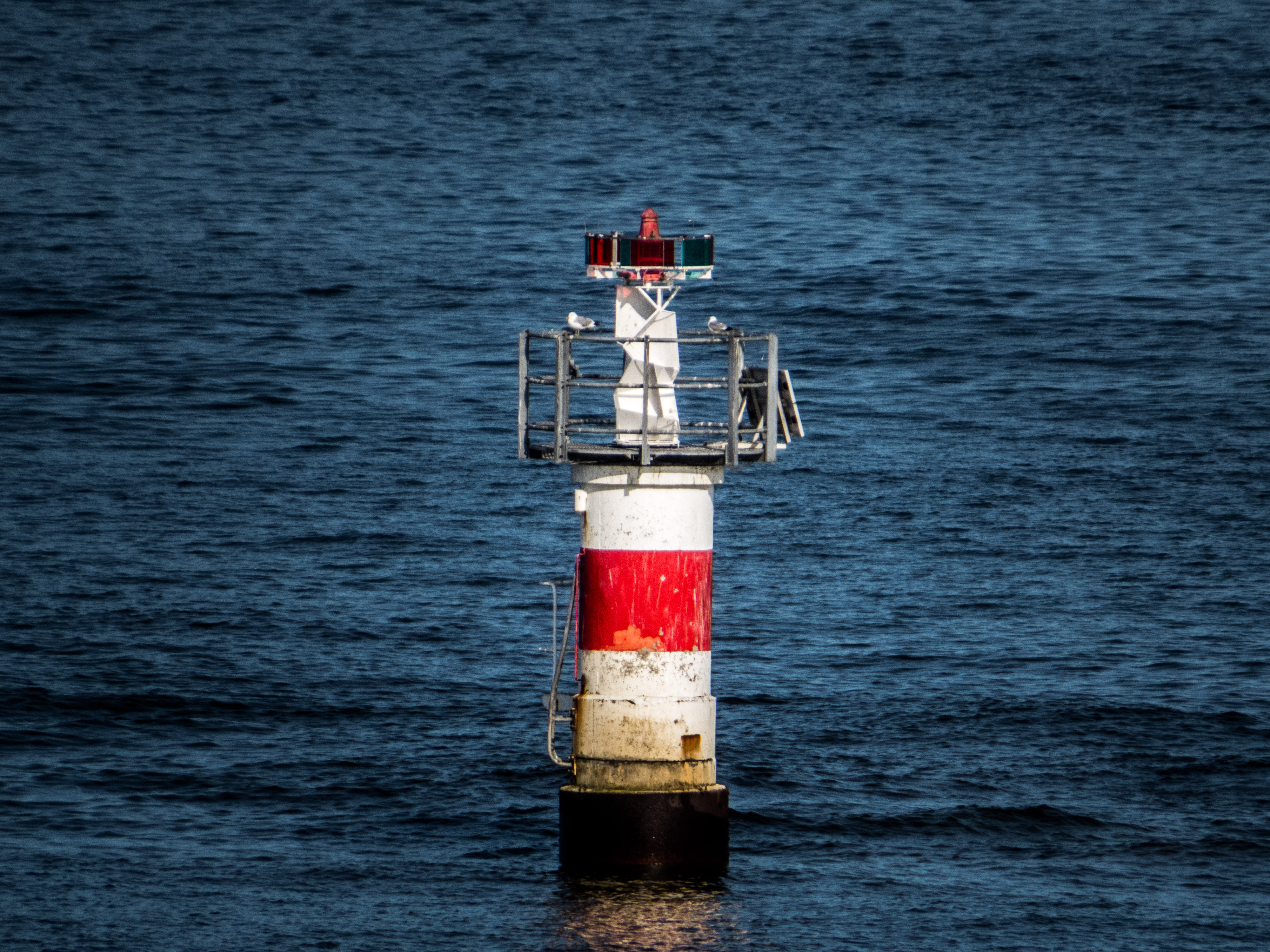 buoy, Port, Red, Sea, Ships, HQ Photo