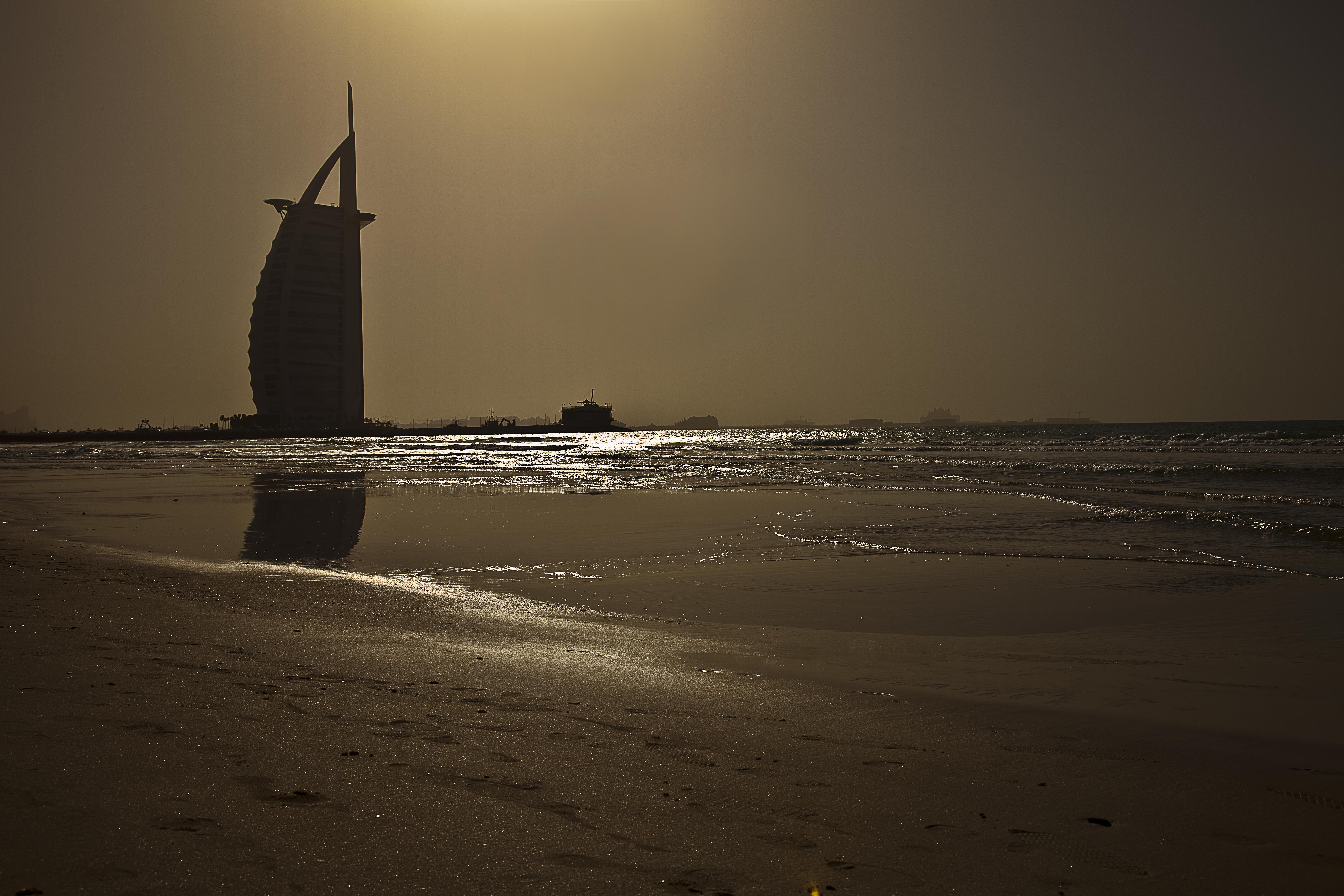 Burj al arab sailboat hotel photo