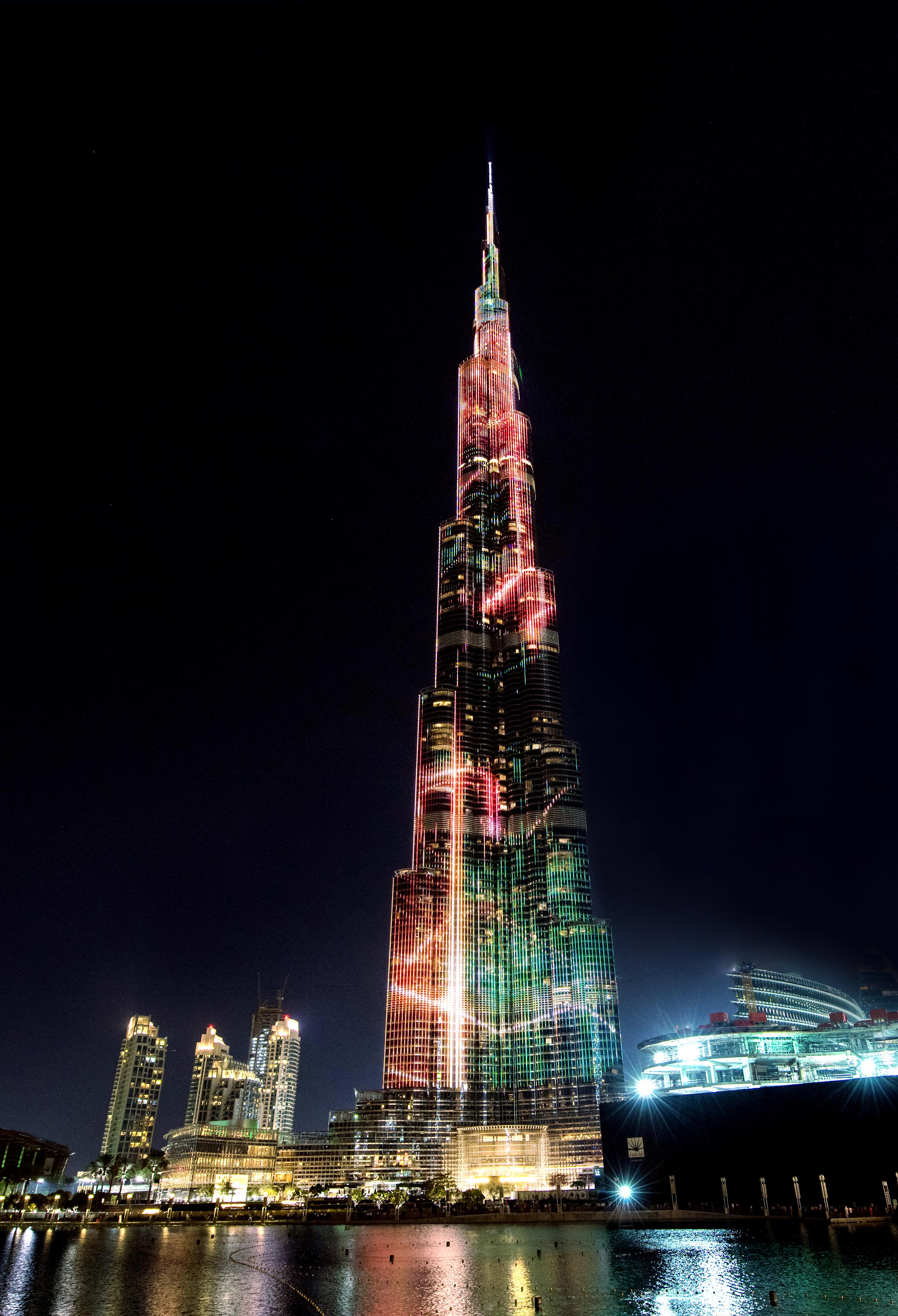 Free photo: Burj Khalifa - Tower, UAE, Dubai - Free Download
