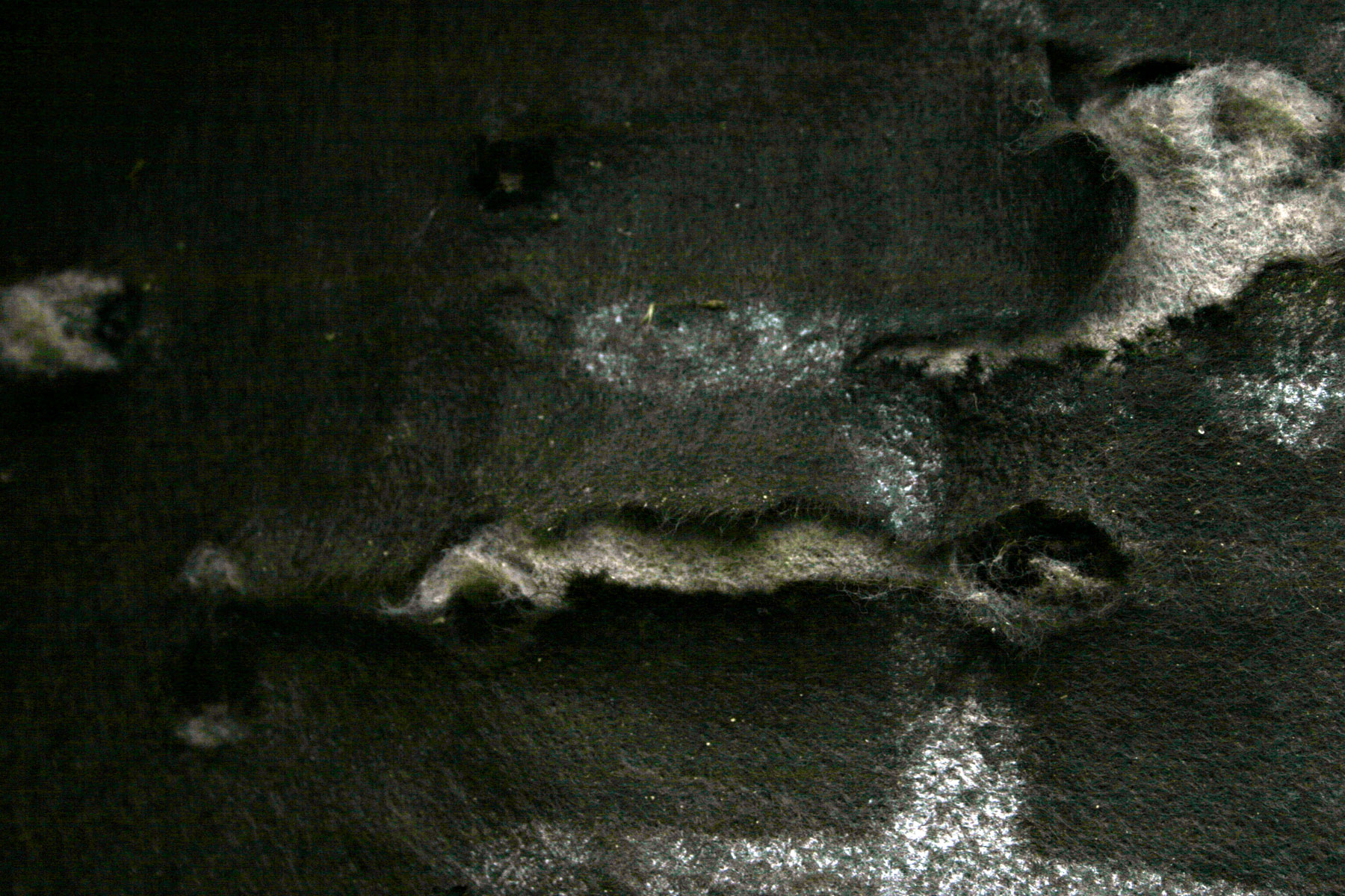 Burned materials photo
