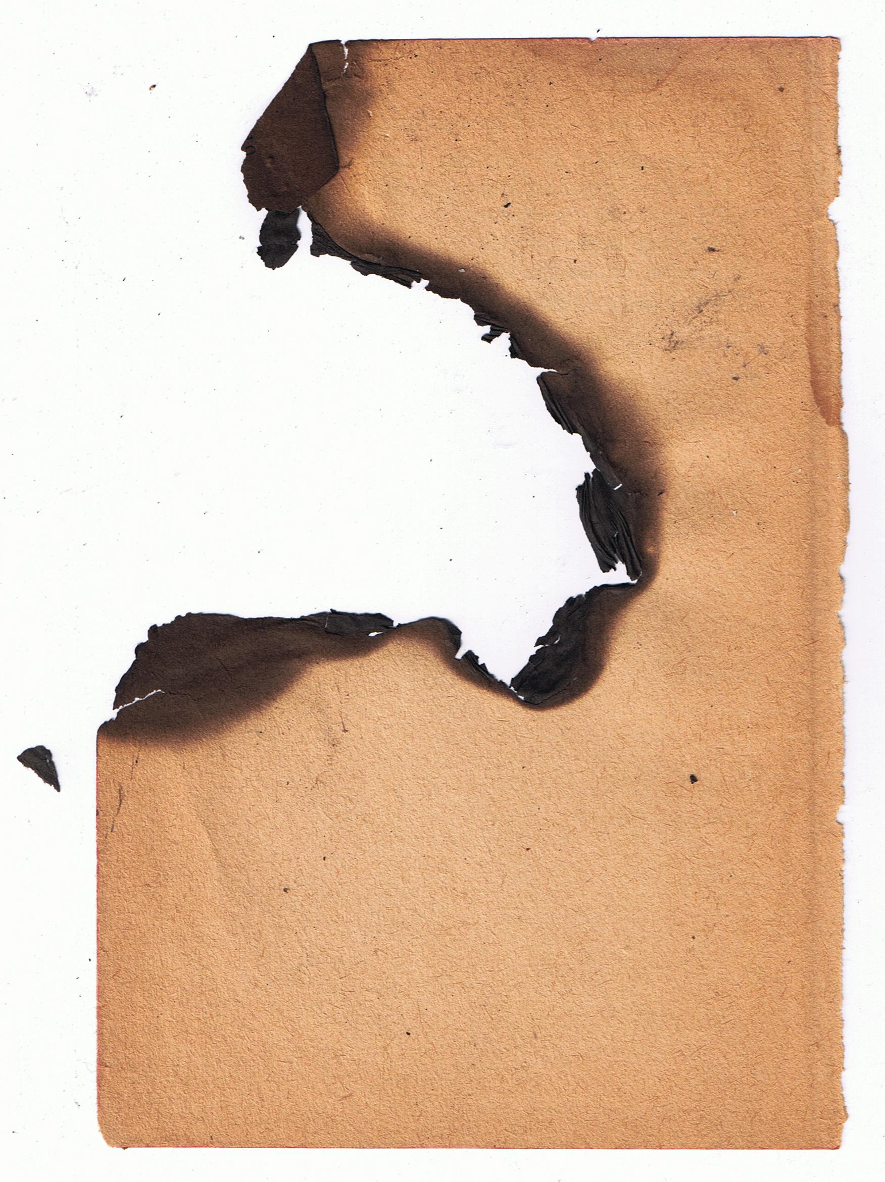 Free Burned Paper Texture Texture - L+T