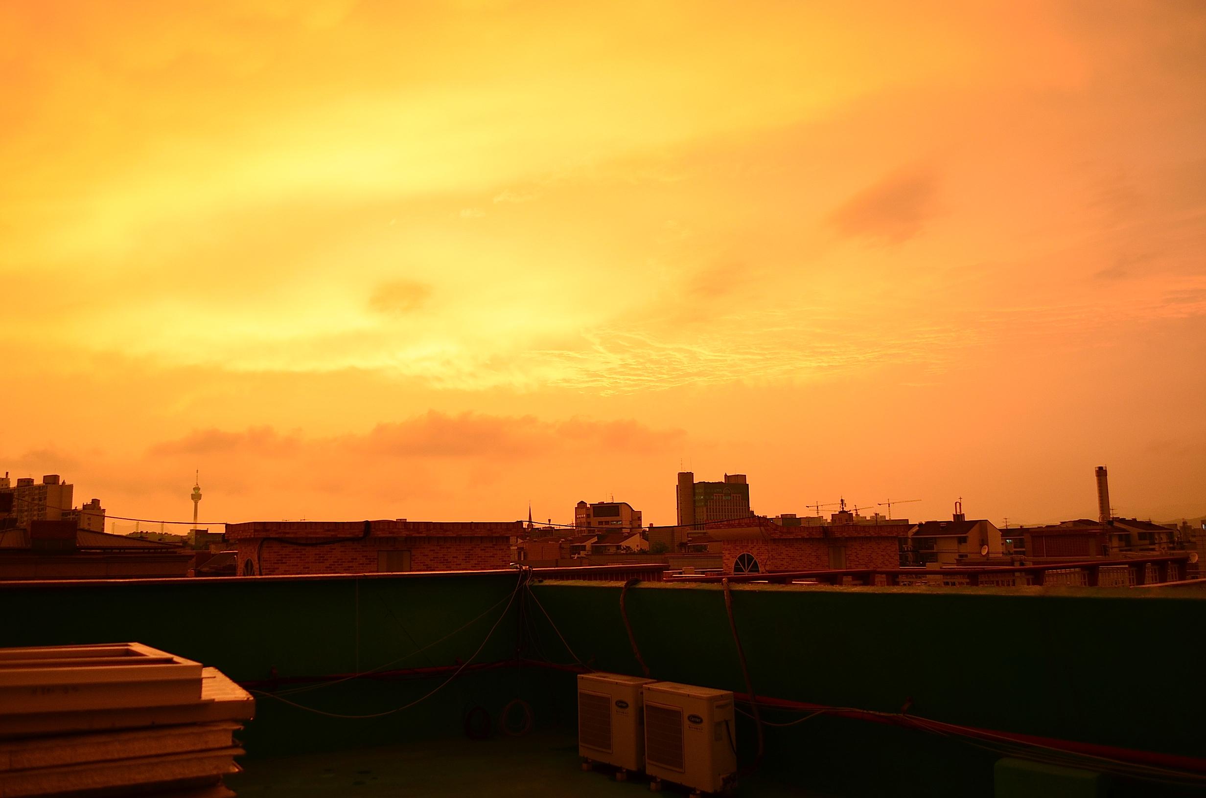And the sky burned | Koreabridge