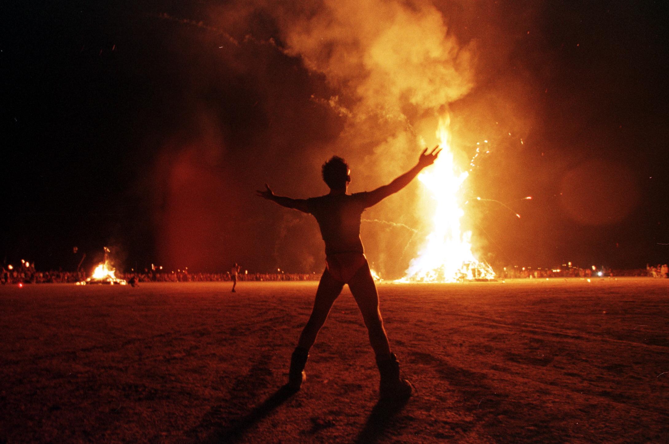 Perceived One Percenters Were Sabotaged at Burning Man Last Week ...