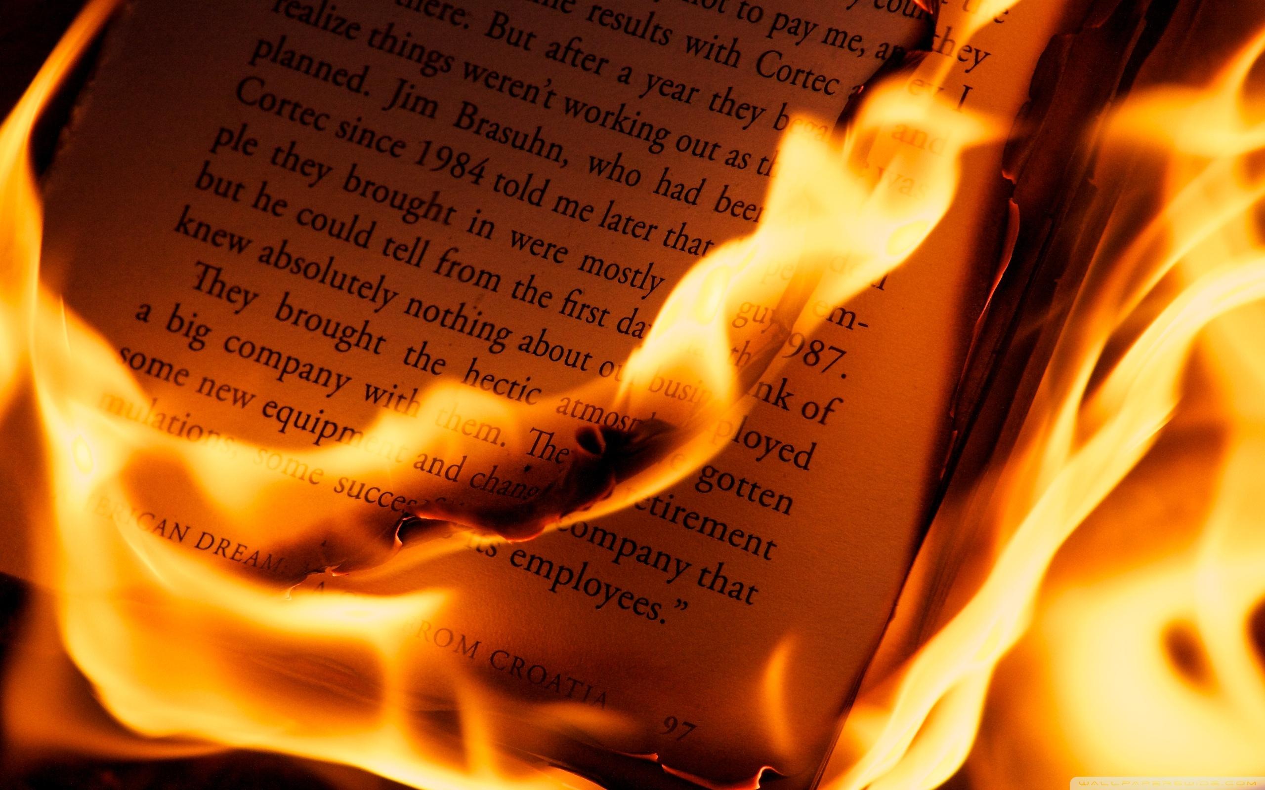Burning Book ❤ 4K HD Desktop Wallpaper for 4K Ultra HD TV • Tablet ...