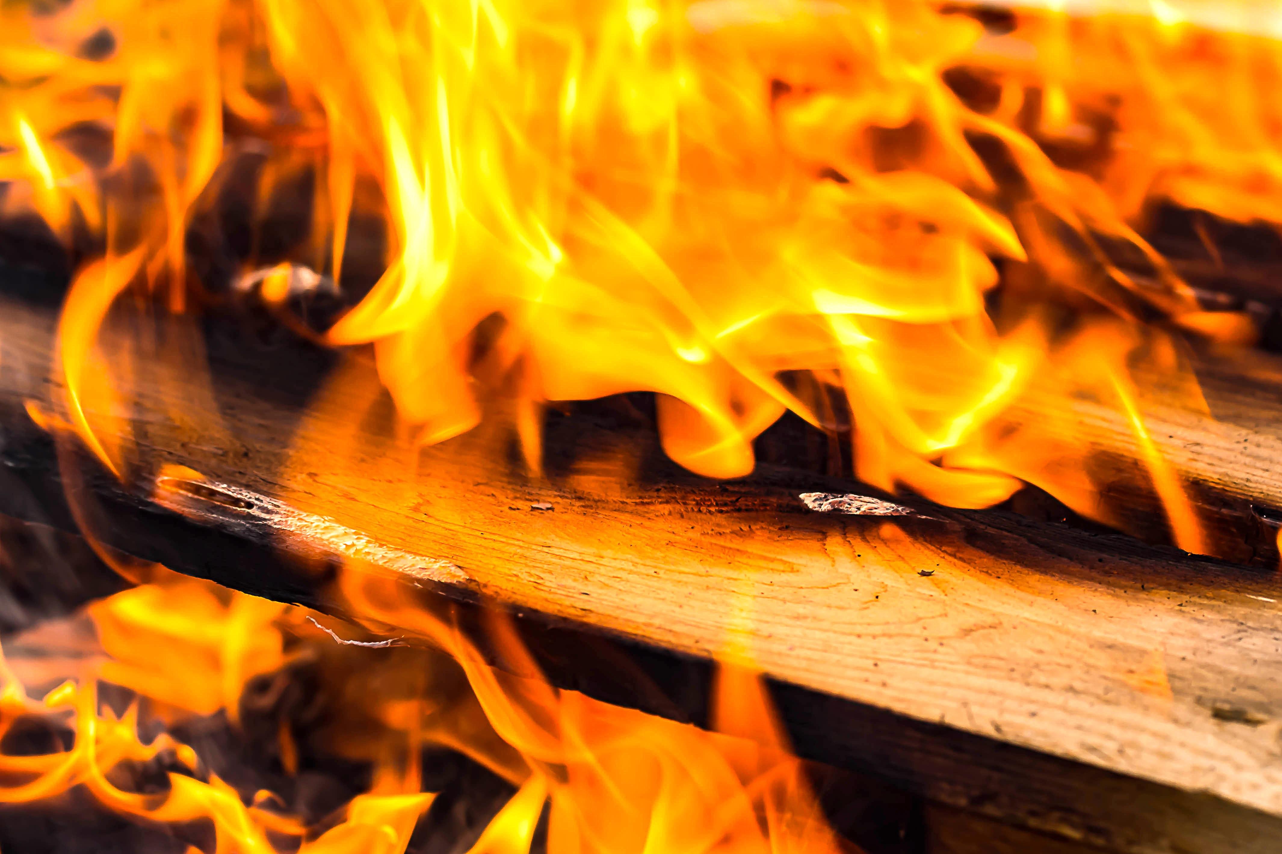 Burning Wood, Fuel, Wood, Fire, Burning, HQ Photo