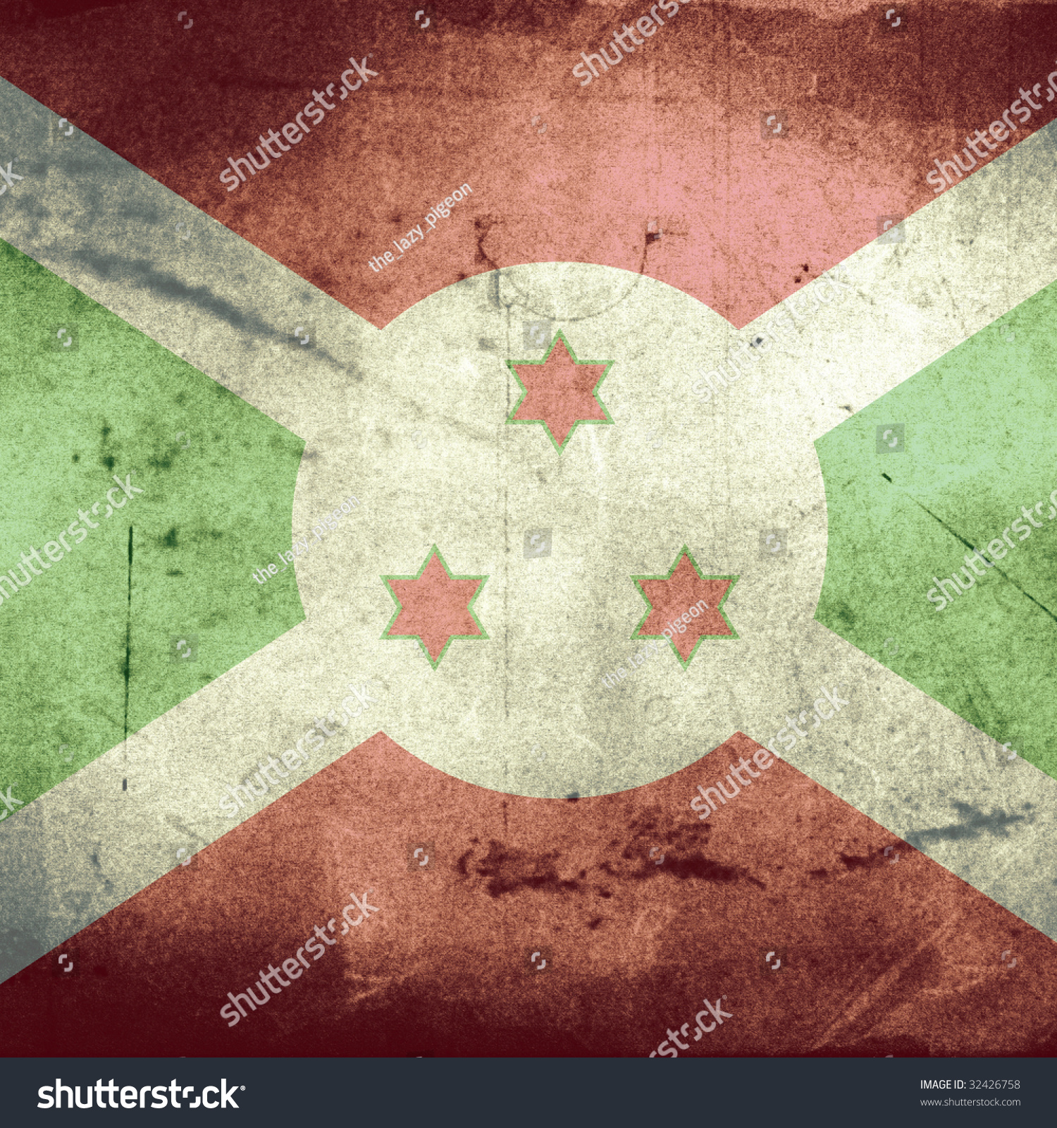 Grunge Flag Burundi Stock Illustration 32426758 - Shutterstock