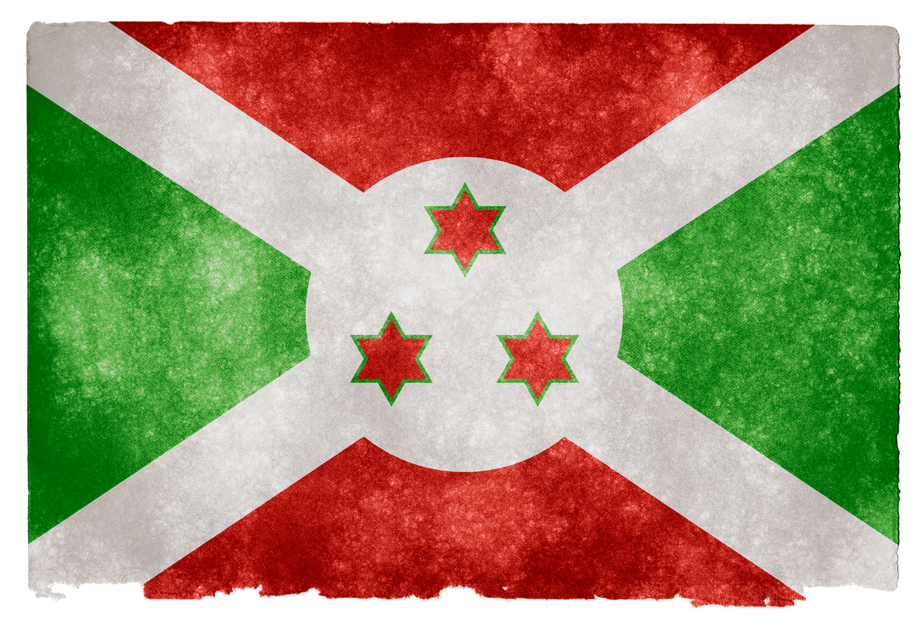 Burundi Grunge Flag, Africa, Red, Nation, National, HQ Photo