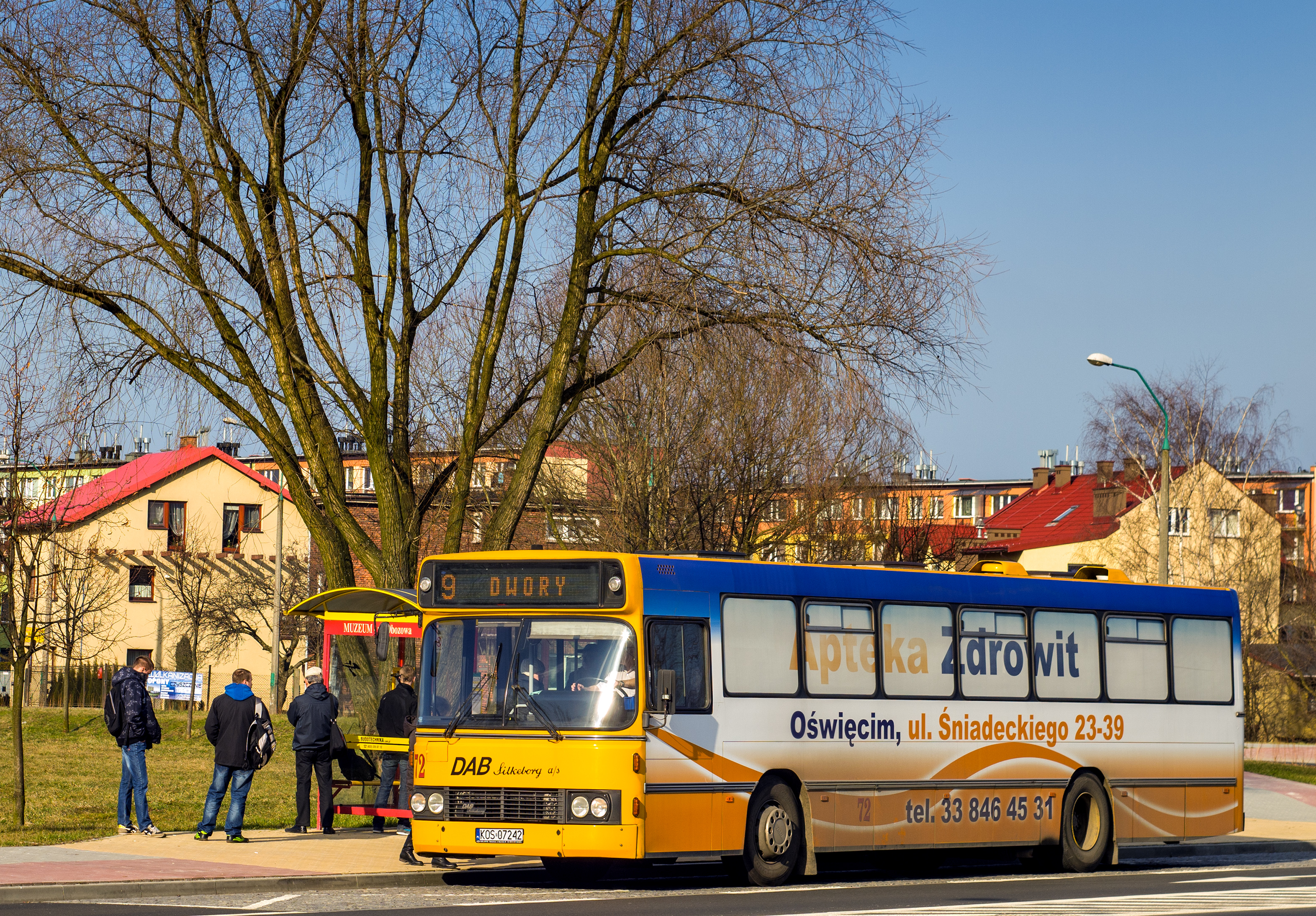 Bus Dab Silkeborg 12 1200b, PublicTransport, Poland, City, Bus, HQ Photo
