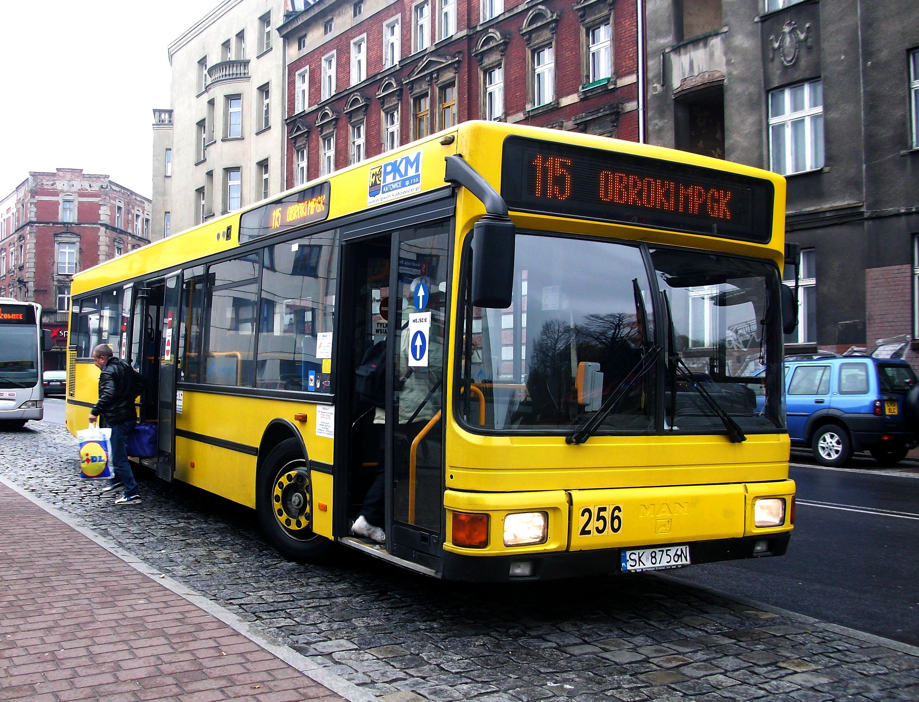 File:Katowice MAN bus n°256.JPG - Wikimedia Commons