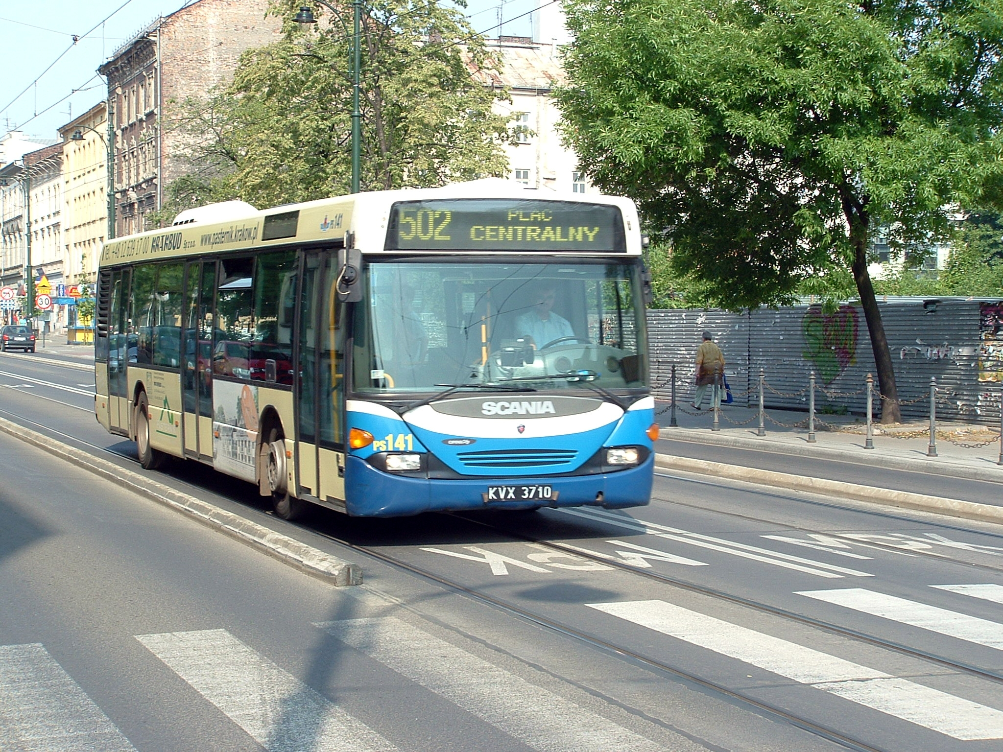 Bus lanes in Krakow 2 | Eltis