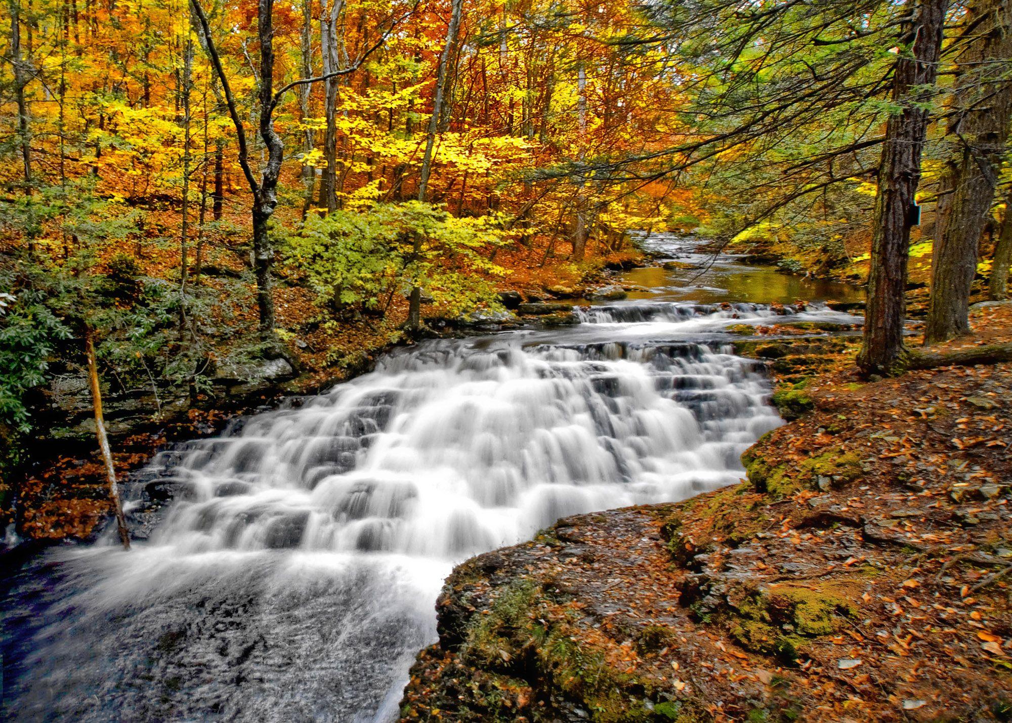 Bushkill Falls PA | Fall | Pinterest | Bushkill falls pa
