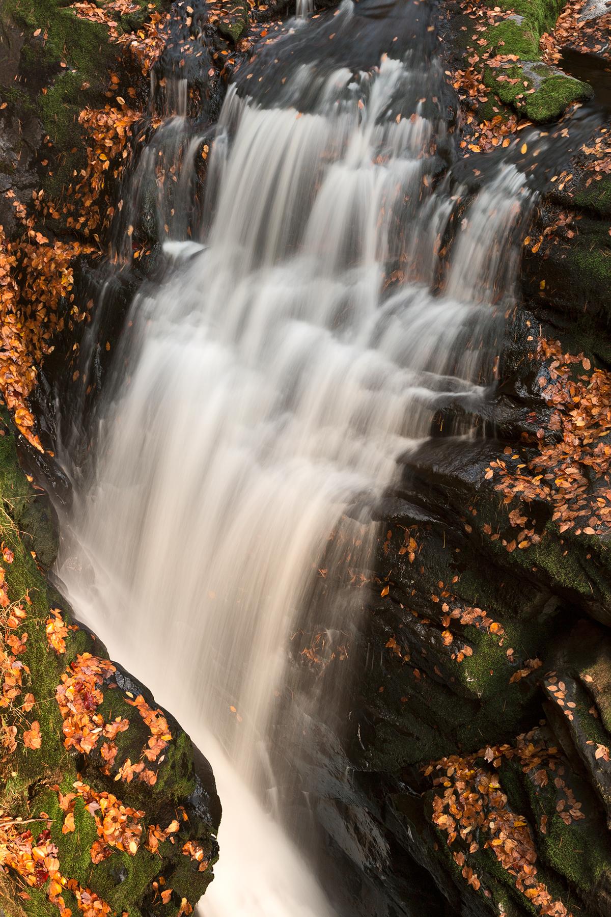 Bushkill Autumn Falls, America, Picturesque, Scenery, Scene, HQ Photo