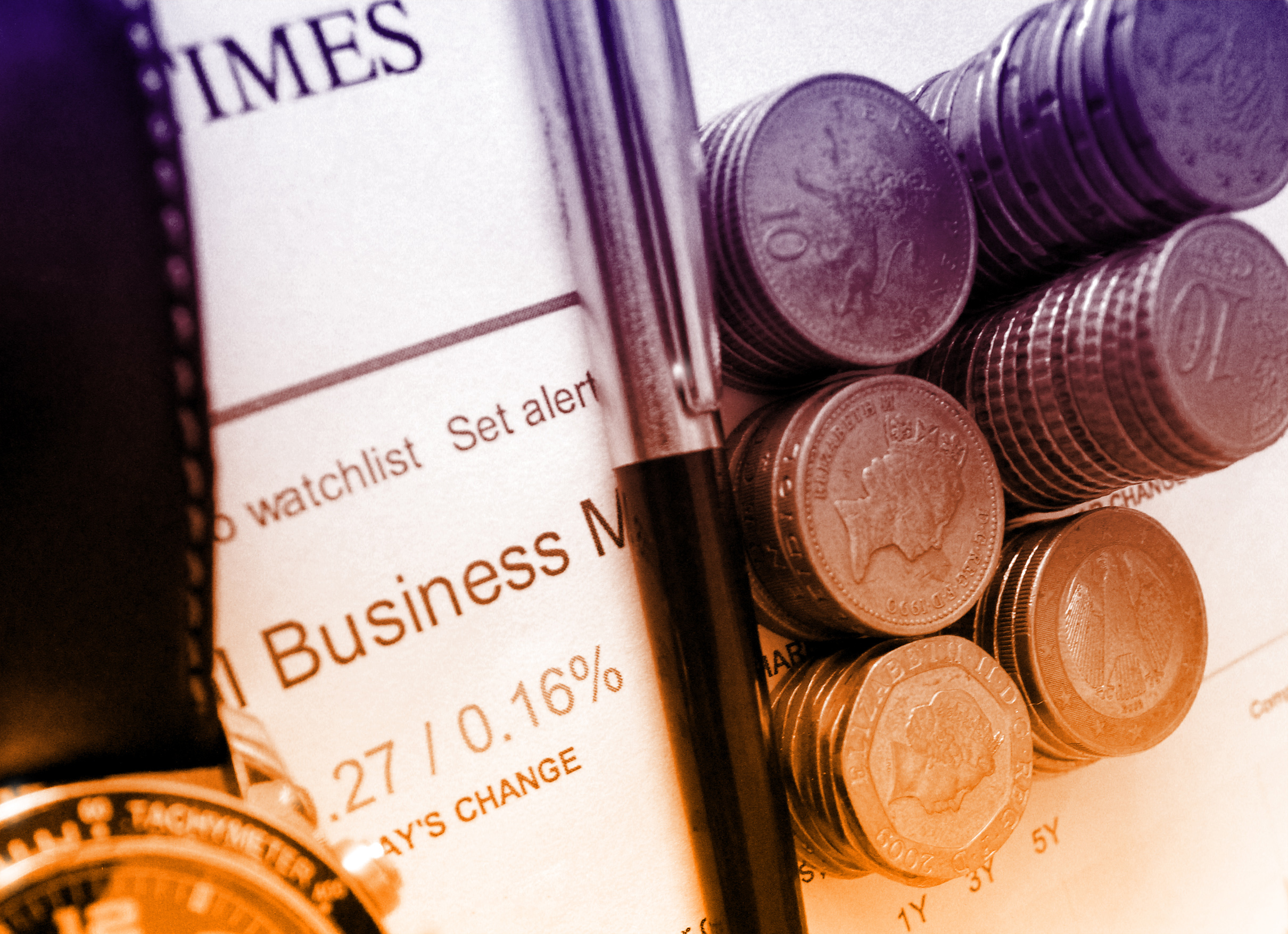 Business and Finance - Money and Financial Newspaper, Accounting, Object, Price, Pound, HQ Photo
