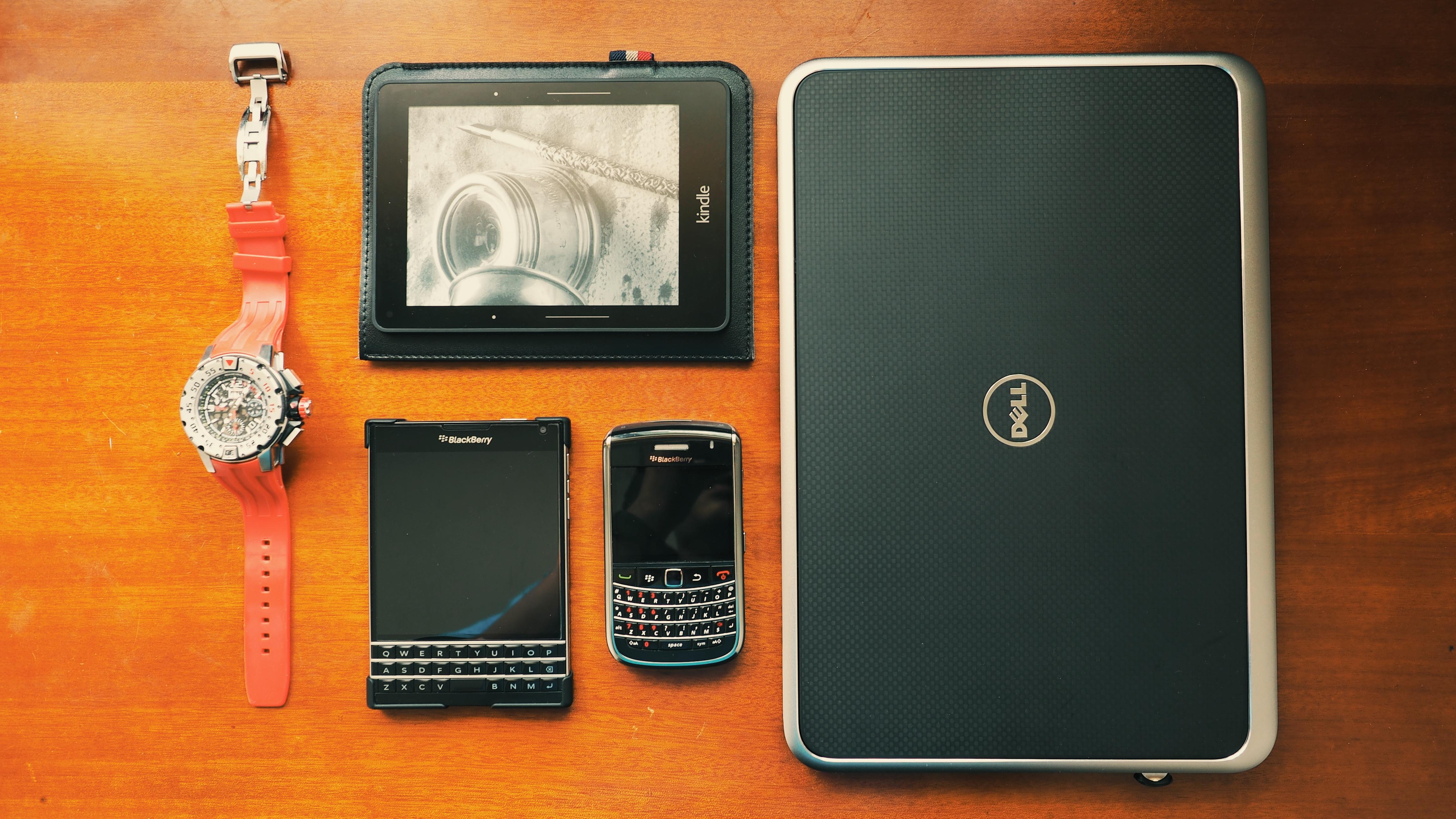 Businessman, Blackberry, Dell, Laptop, Mobile, HQ Photo