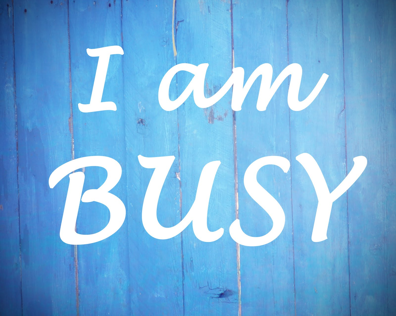 The Disease of Being Busy | ALK3R