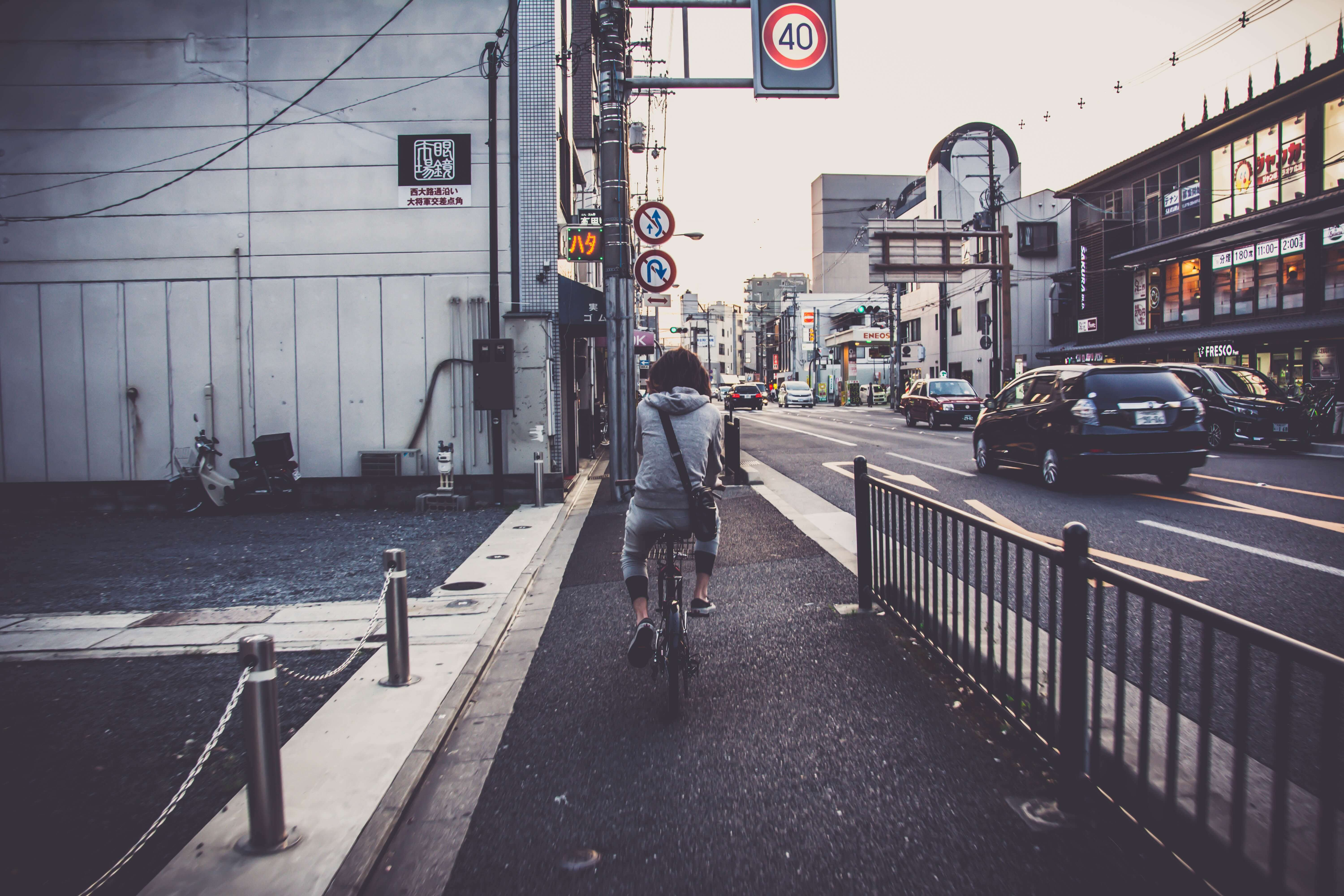 Biking On Busy Roads Made Easy - AutoAccident.com