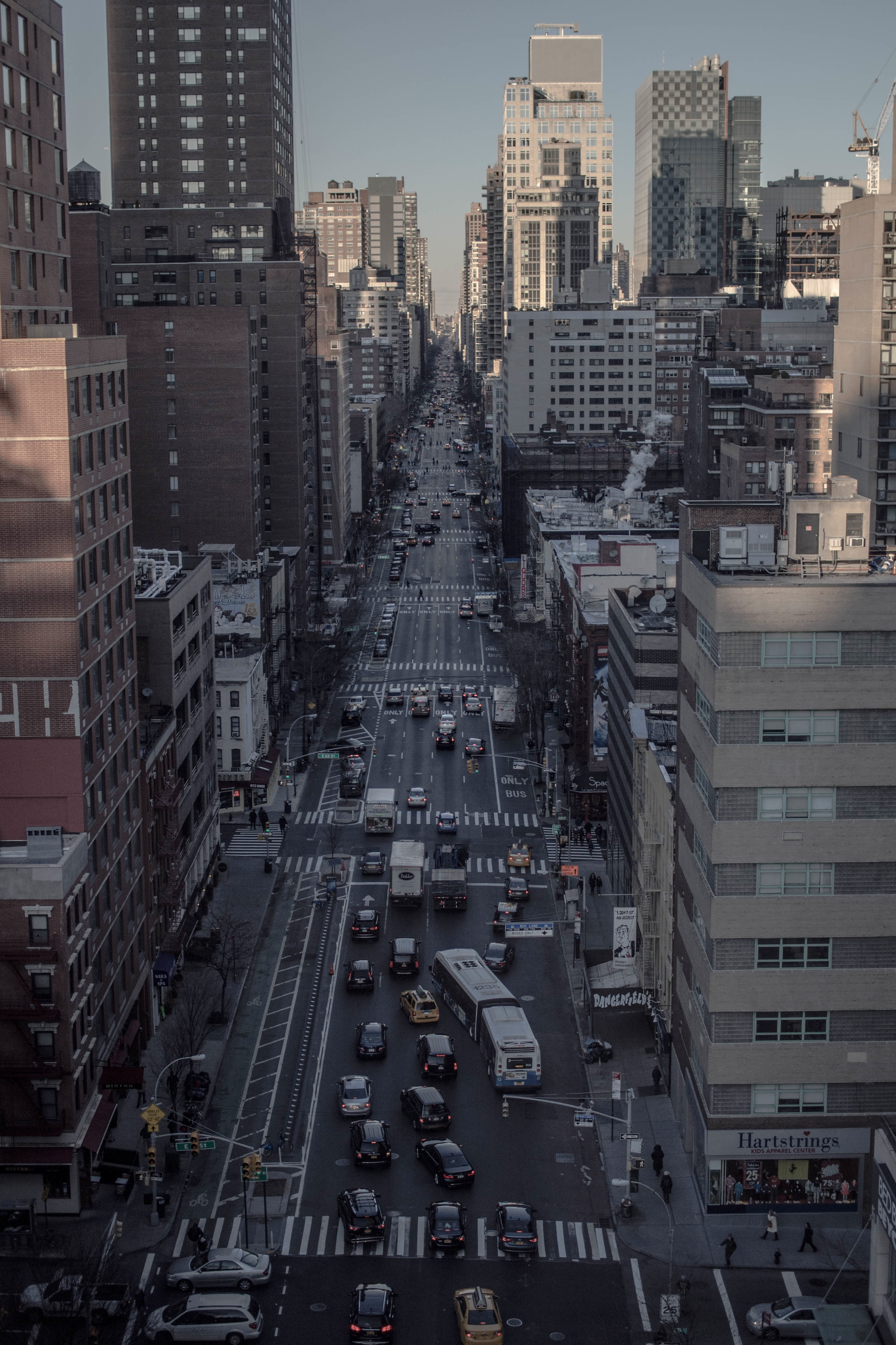 Busy Road, Building, Busy, City, Concrete, HQ Photo