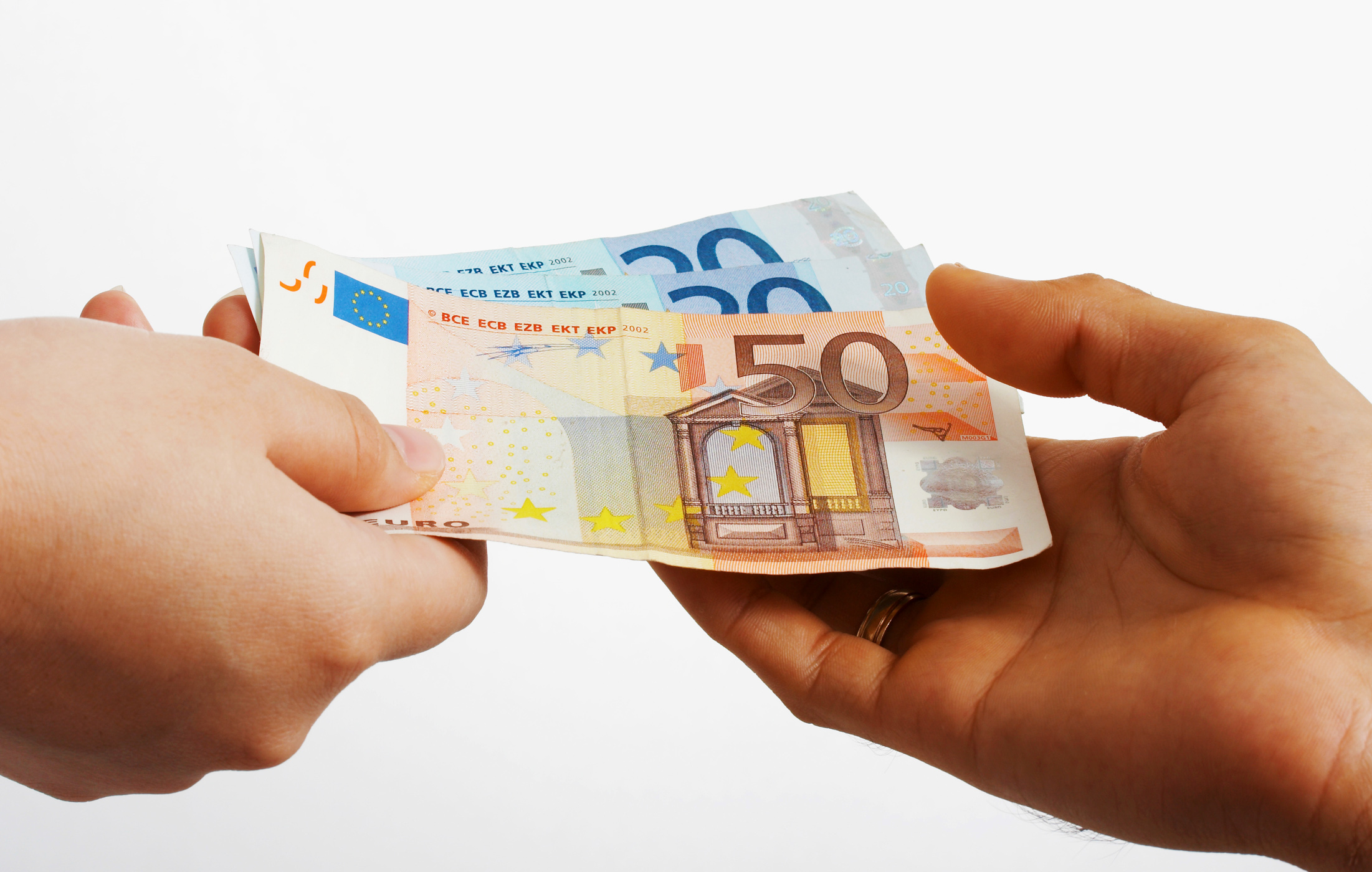 Ing Something In Euros Cash Paying Payment Purchase Pay Hq Photo