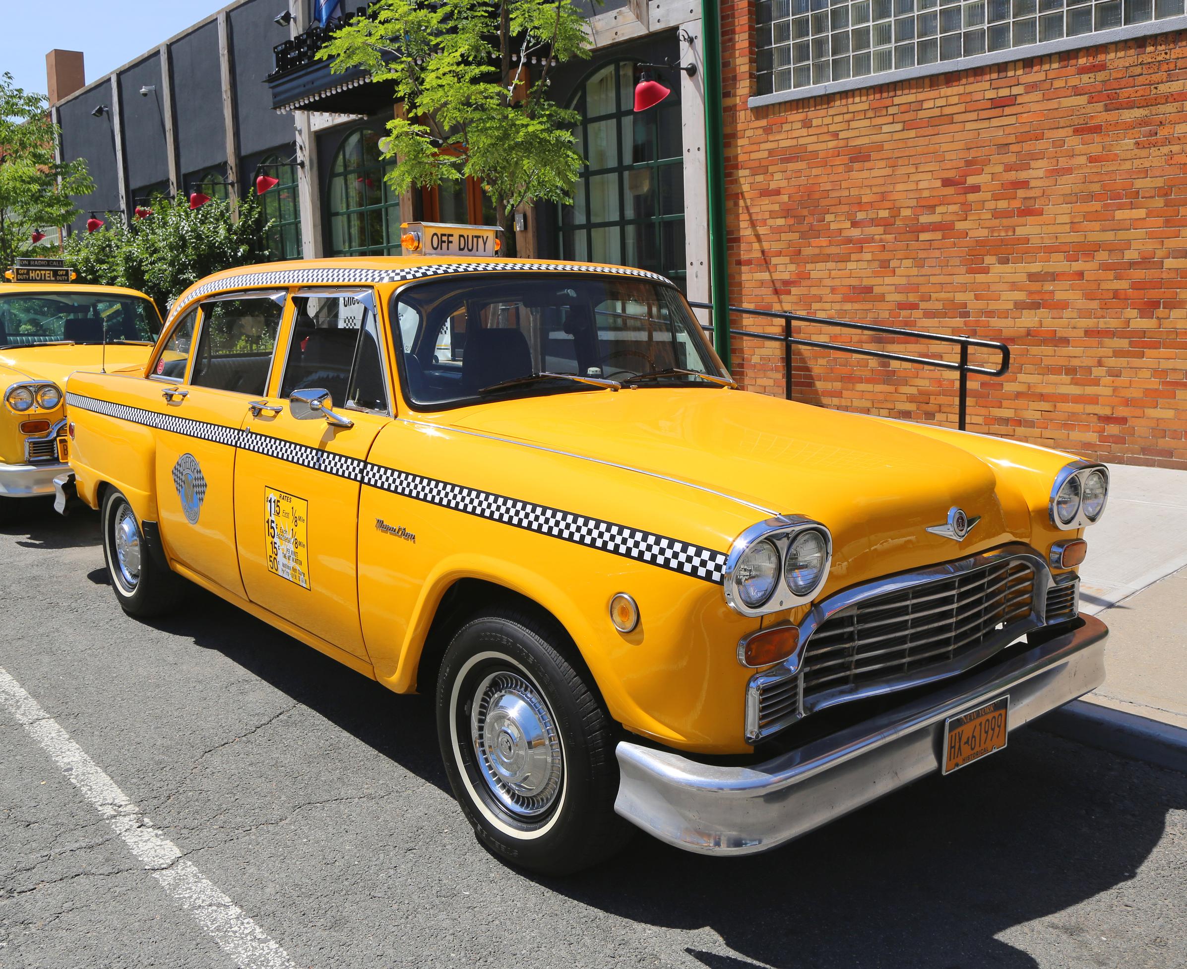 Dustbin of History: The Checker Cab