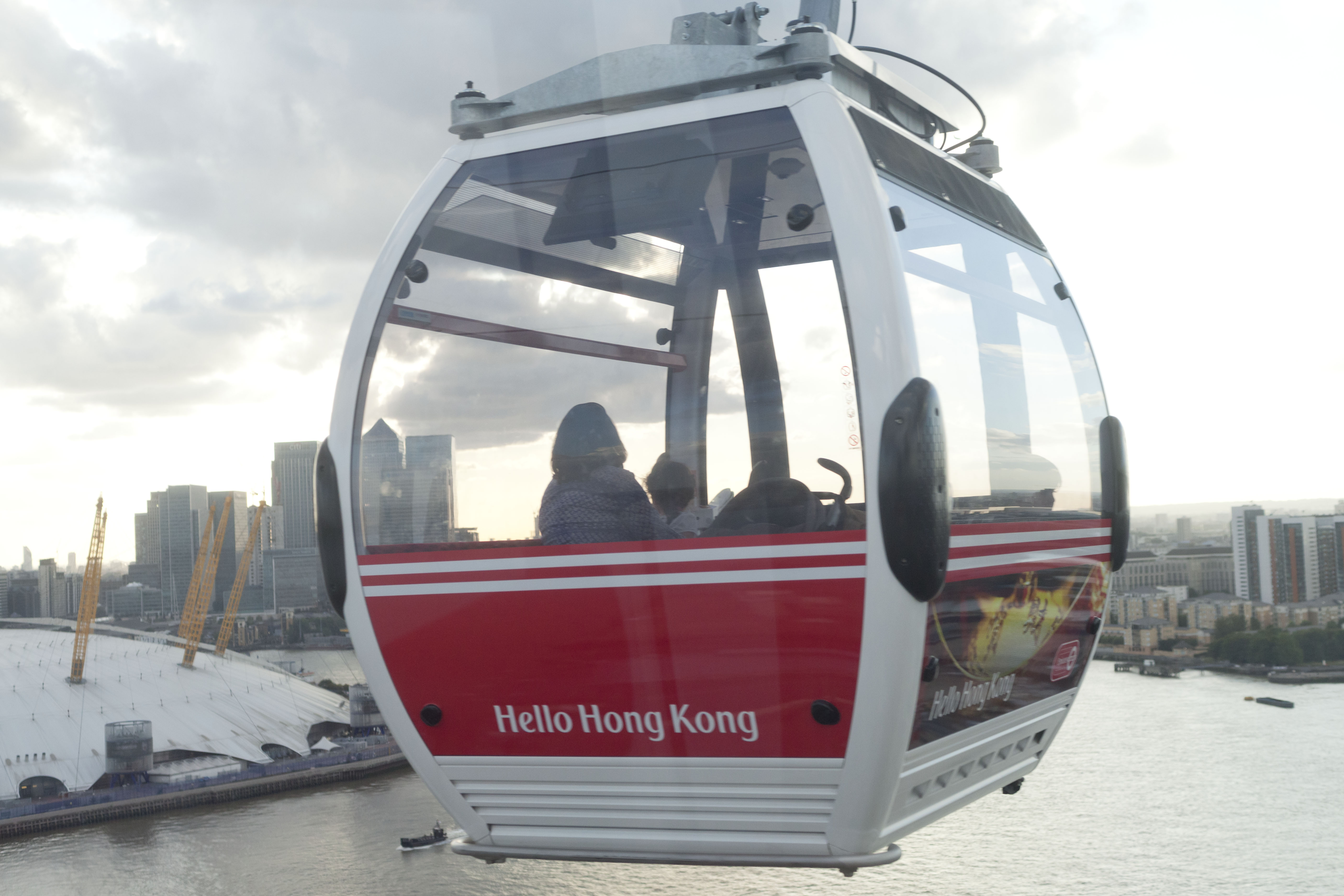 Cable Car :: Getting Here | The O2