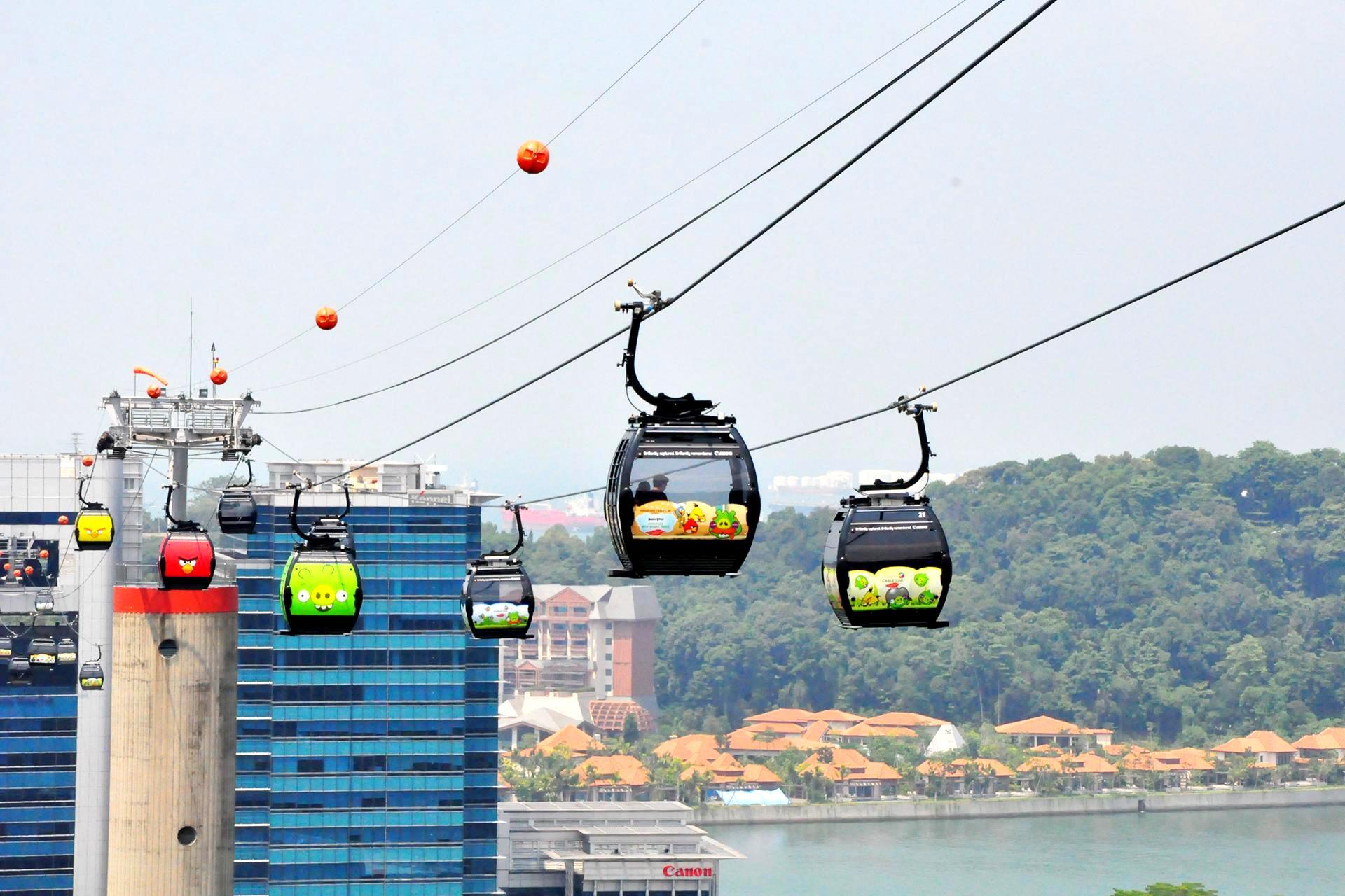 Singapore Cable Car Skypass - Planet Rovers