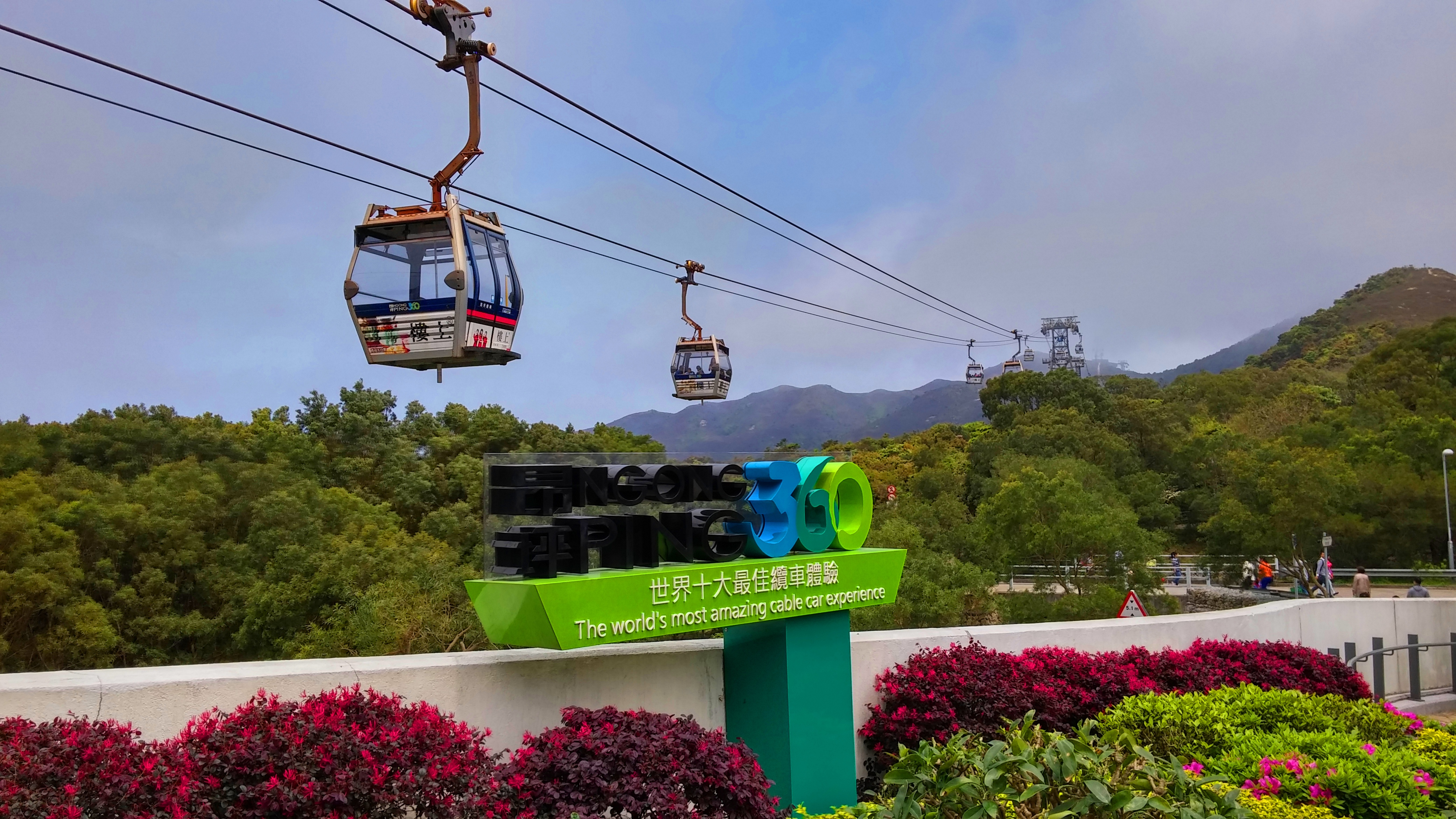 Visit Big Buddha with Cable Car ride in a half day Lantau tour