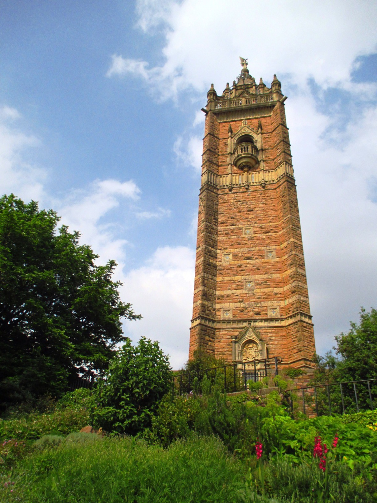 Cabot Tower, Bristol, England - Take the 120 plus steps for amazing...