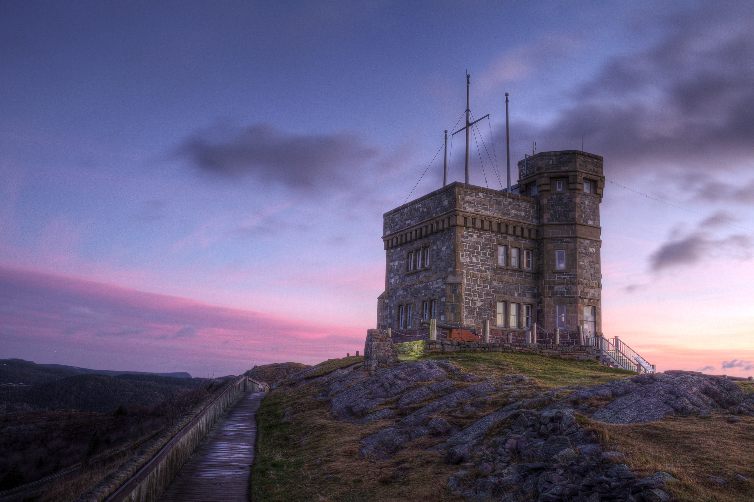 Cabot Tower, Atlantic, Military, Vacation, Travel, HQ Photo