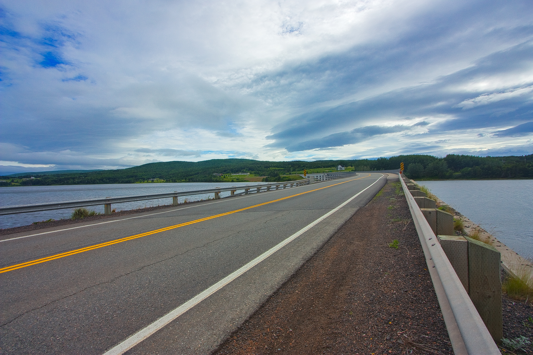 Cabot Trail Scenic Route - HDR, Pavement, Road, Resource, Res, HQ Photo