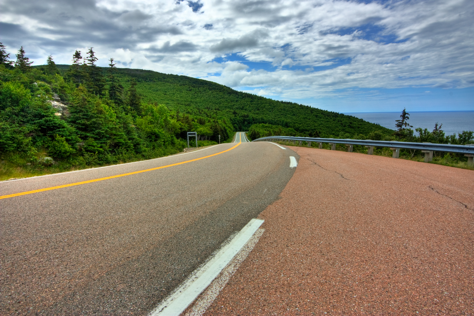 Cabot trail scenic route - hdr photo