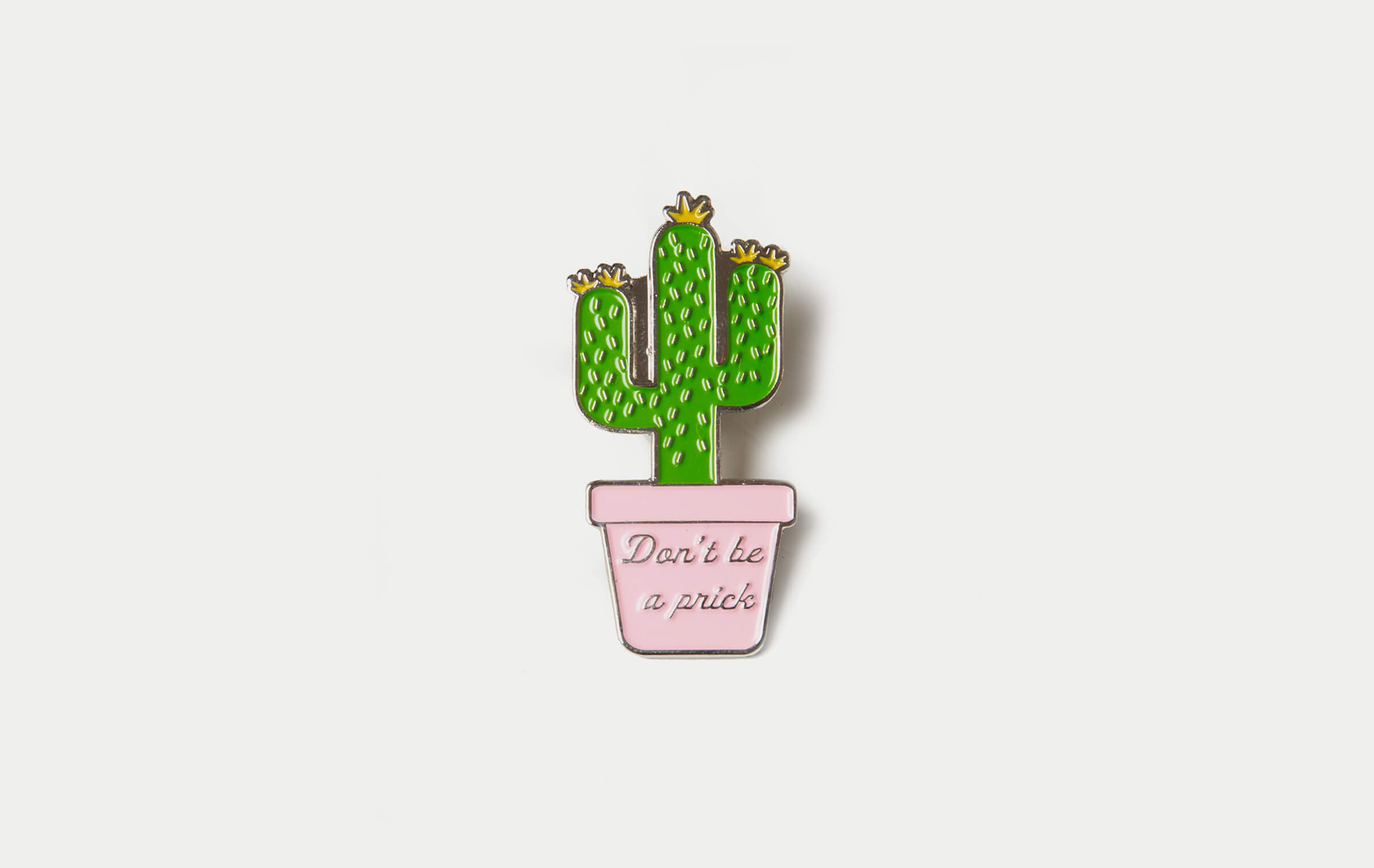 Mouthy Cactus Pin – Marine Layer