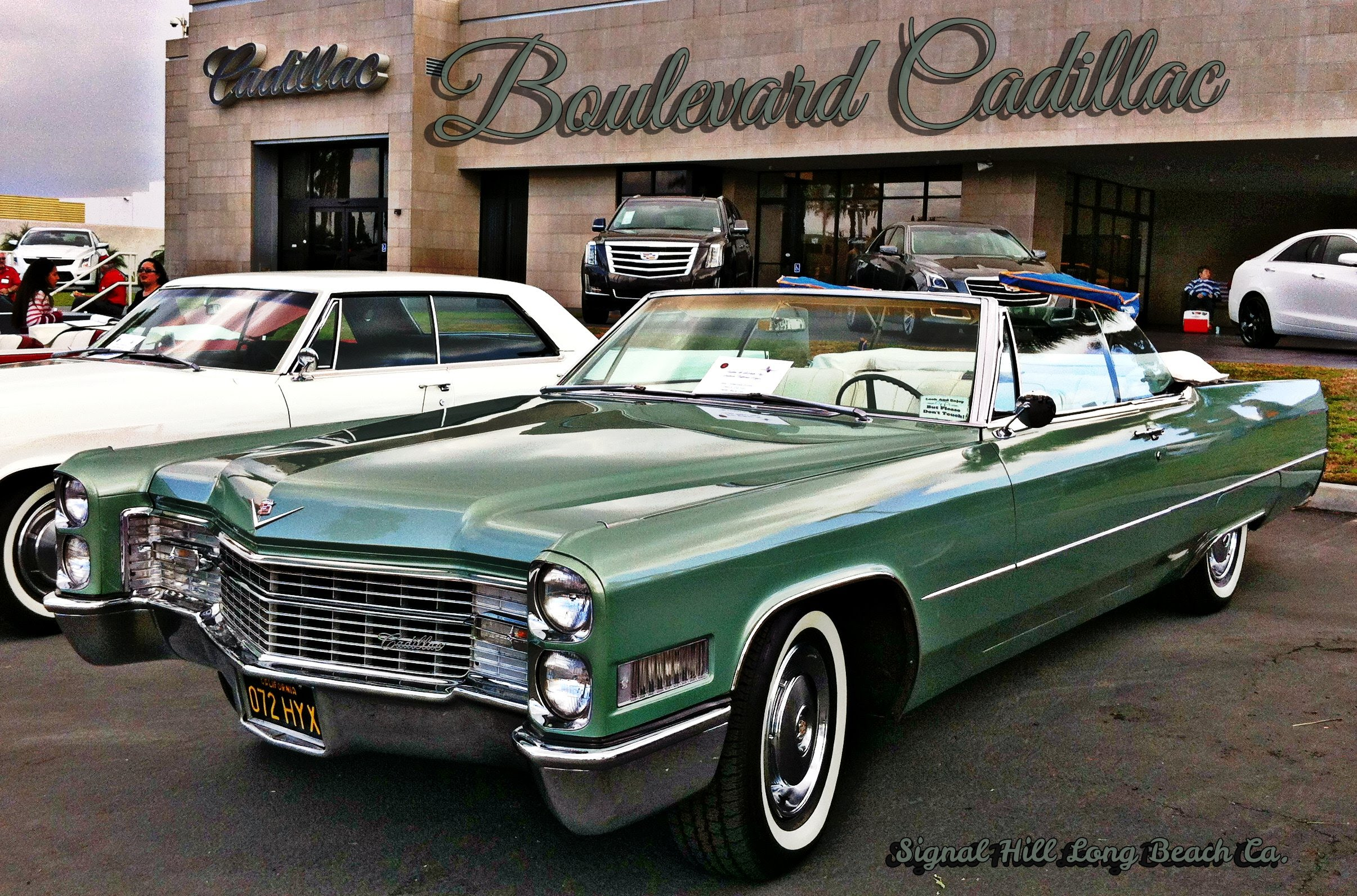 Cadillac Classic Car Show Signal Hill Ca - YouTube