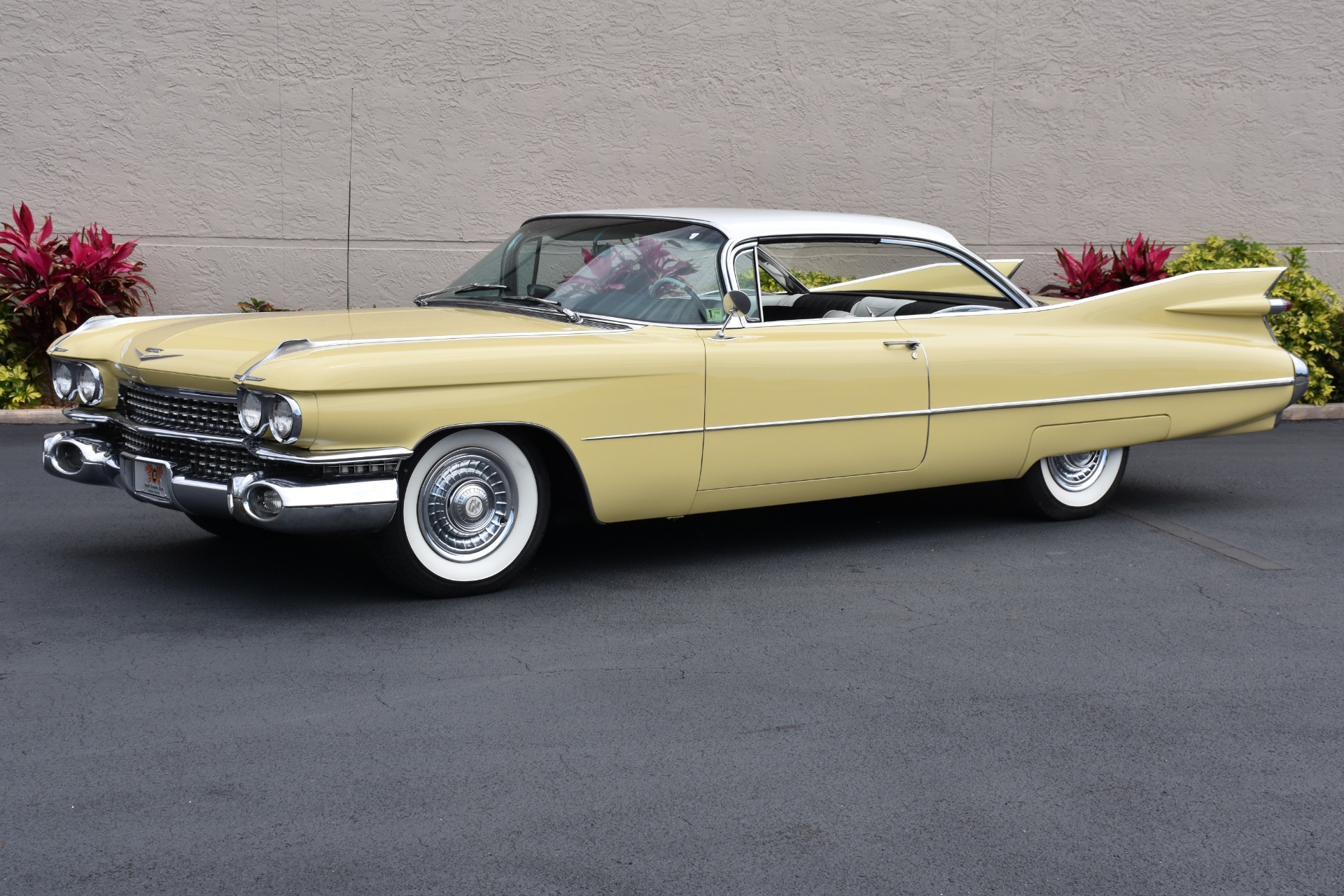 Used 1959 Cadillac Coupe Deville 390CI V8 50K Believed Original ...