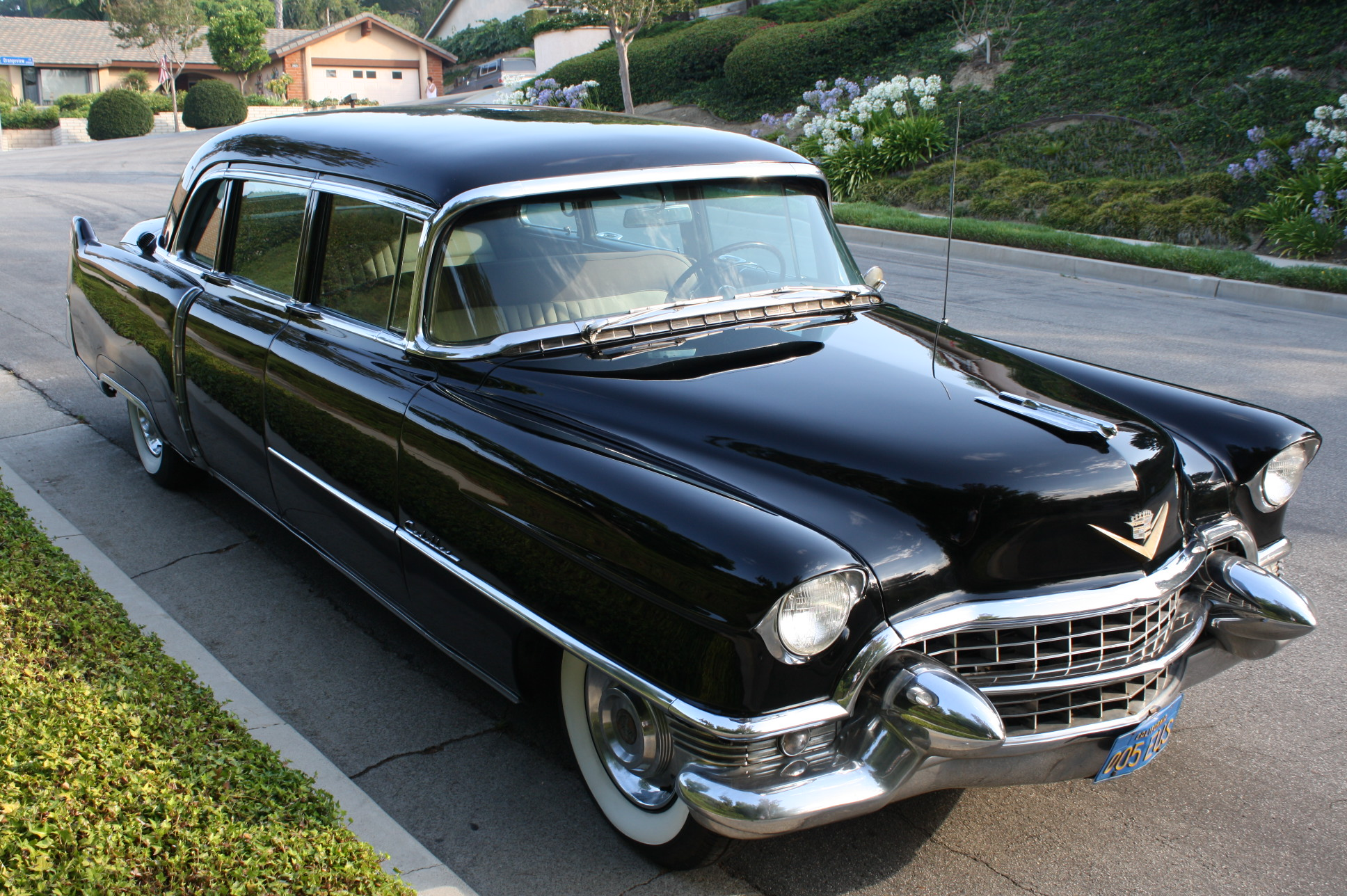 1955 Cadillac 75 8 Passenger Sedan | The Vault Classic Cars