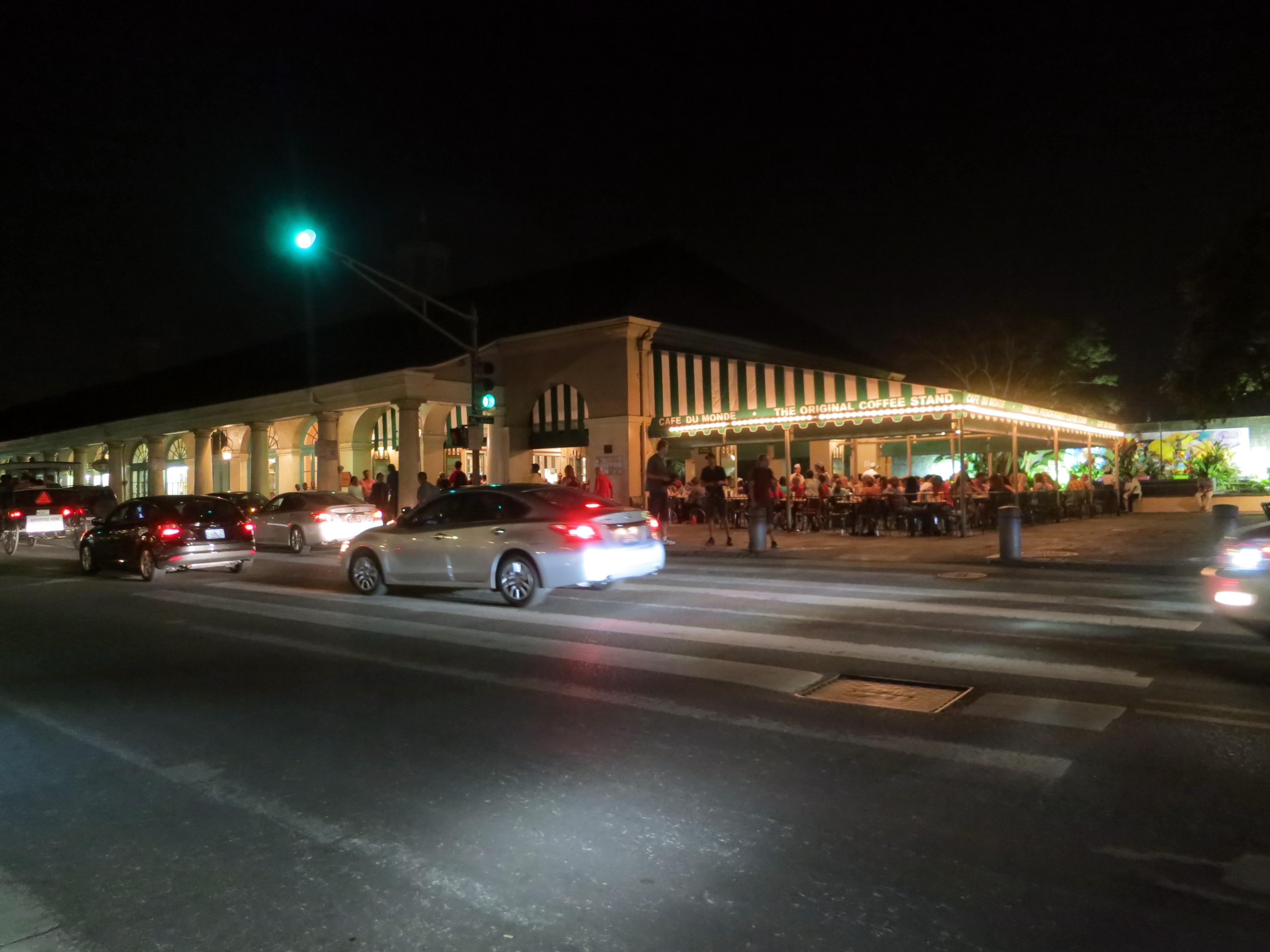 Cafe du Monde, Cafe, Car, Du, Louisiana, HQ Photo