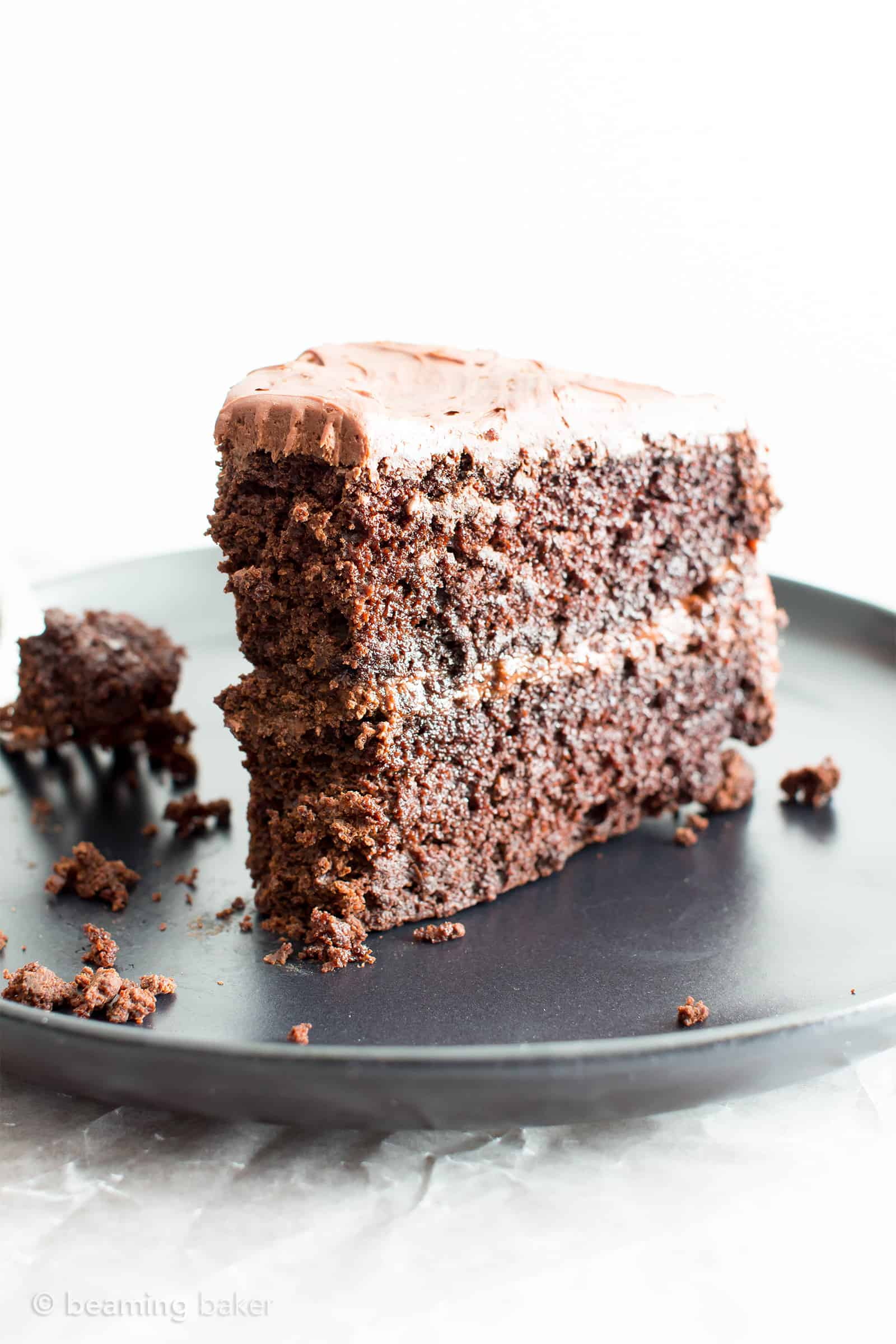Vegan Chocolate Cake Recipe (Gluten Free, Dairy-Free, V, Refined ...