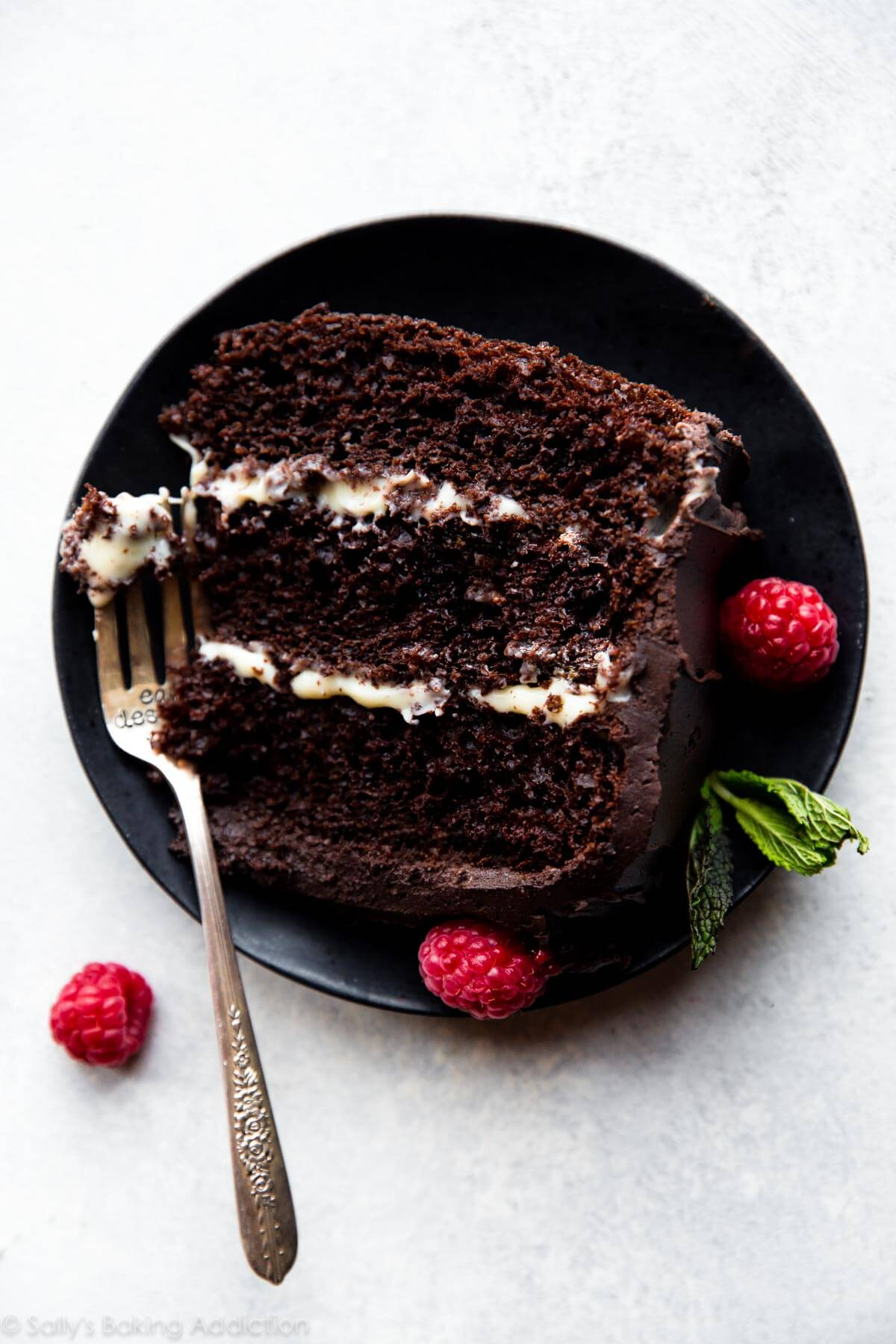 Tuxedo Cake - Sallys Baking Addiction
