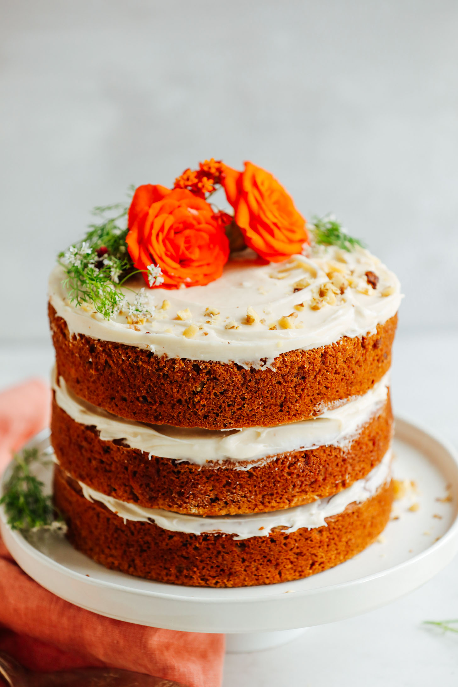 Vegan Gluten-Free Carrot Cake | Minimalist Baker Recipes