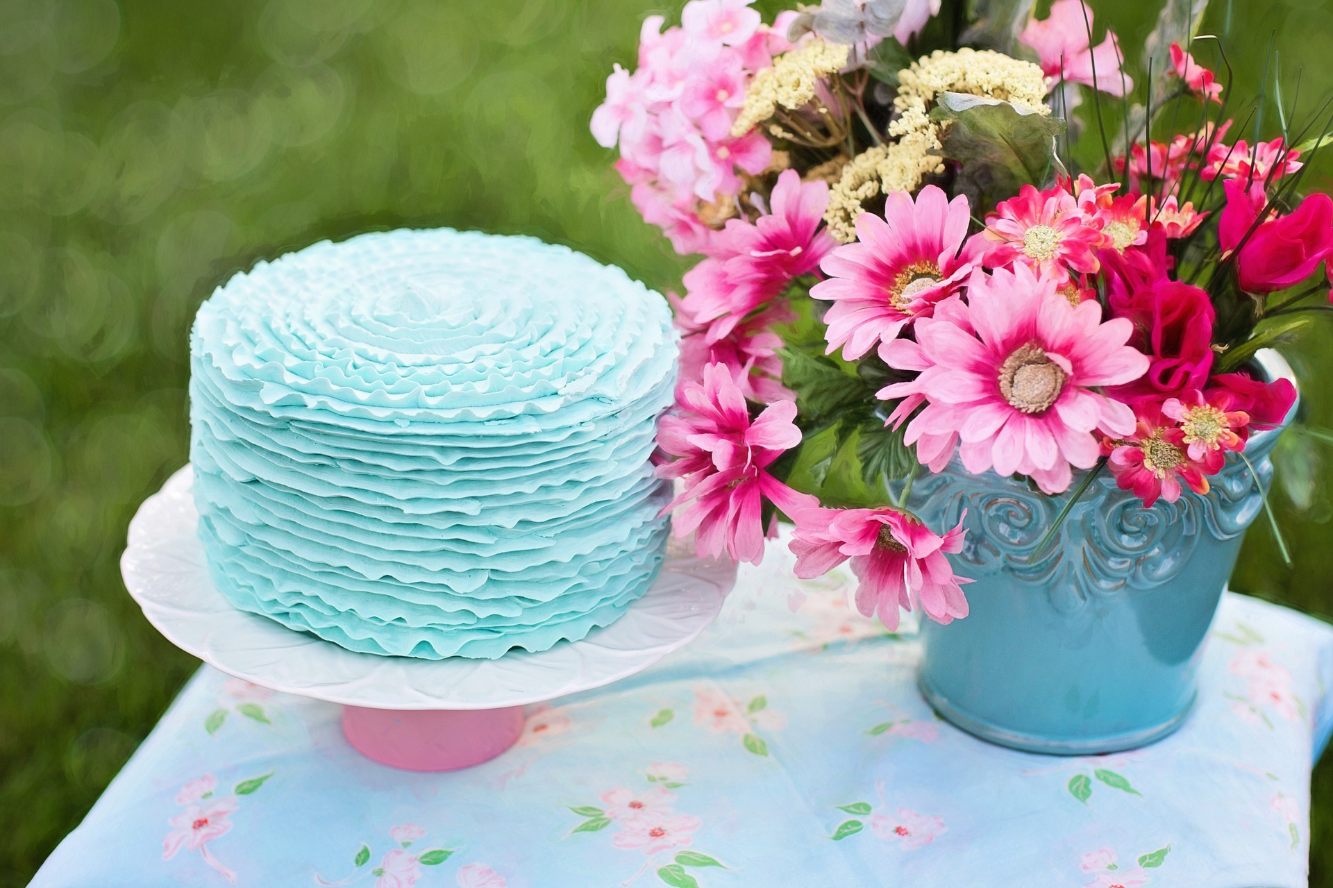 Free Photo Cake For Birthday Food Pot Flower Free Download