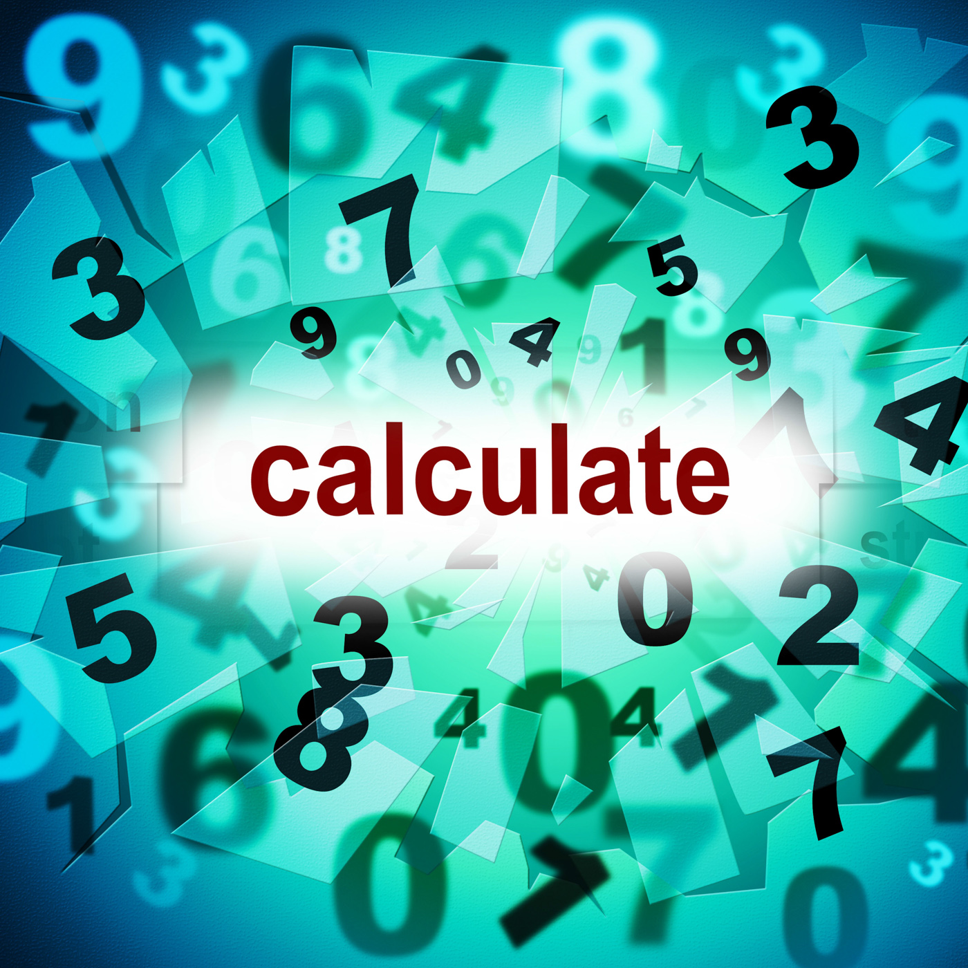 Free photo: Calculation Mathematics Represents One Two Three And ...