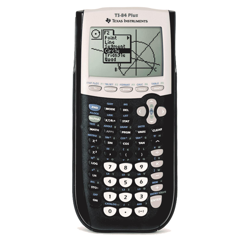 Amazon.com: Texas Instruments Ti-84 plus Graphing calculator - Black ...