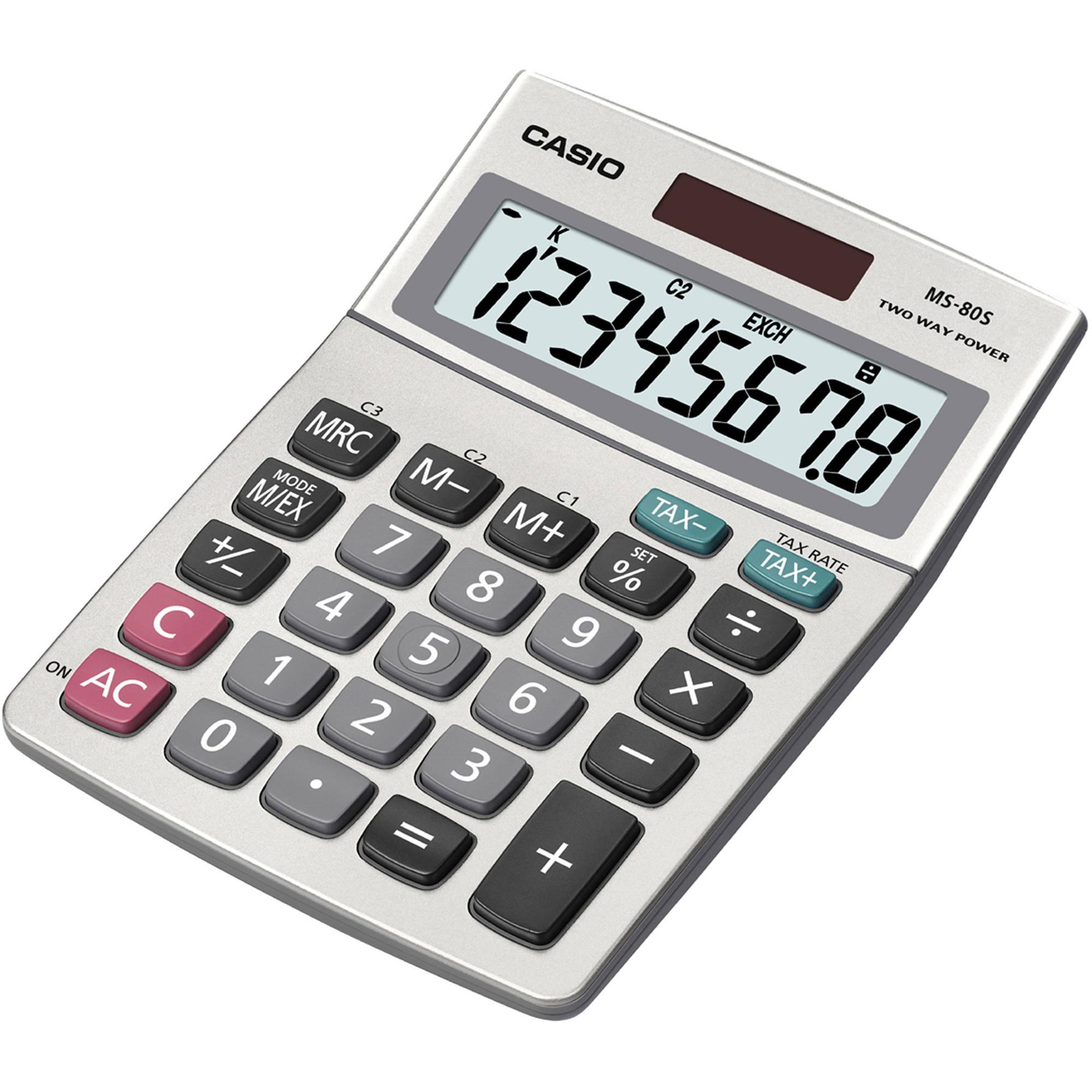 Medichest | Casio MS-80S 8-Digit Desktop Calculator