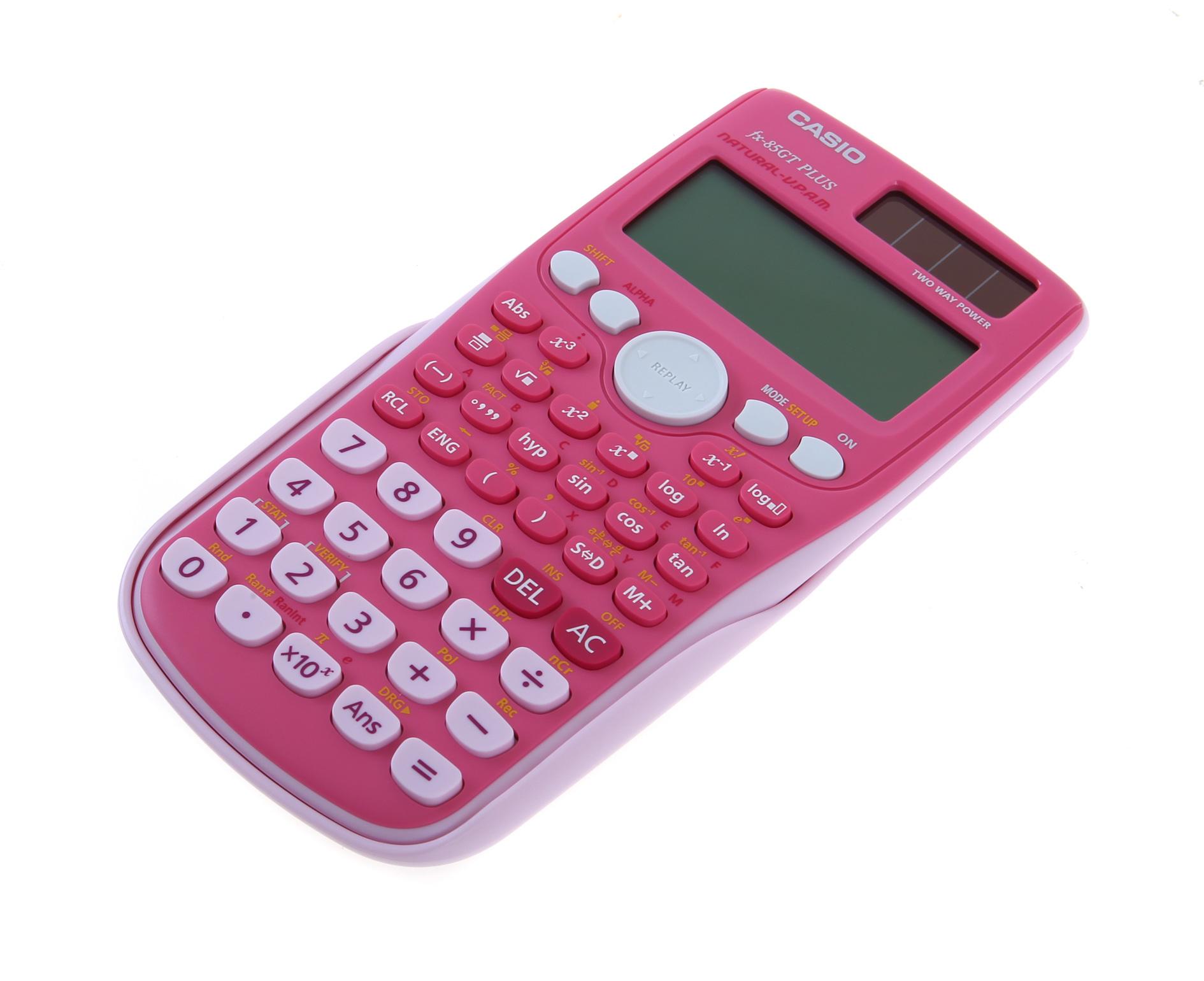 Casio FX-85GT Plus Scientific Calculator Pink - Calculators - Home ...