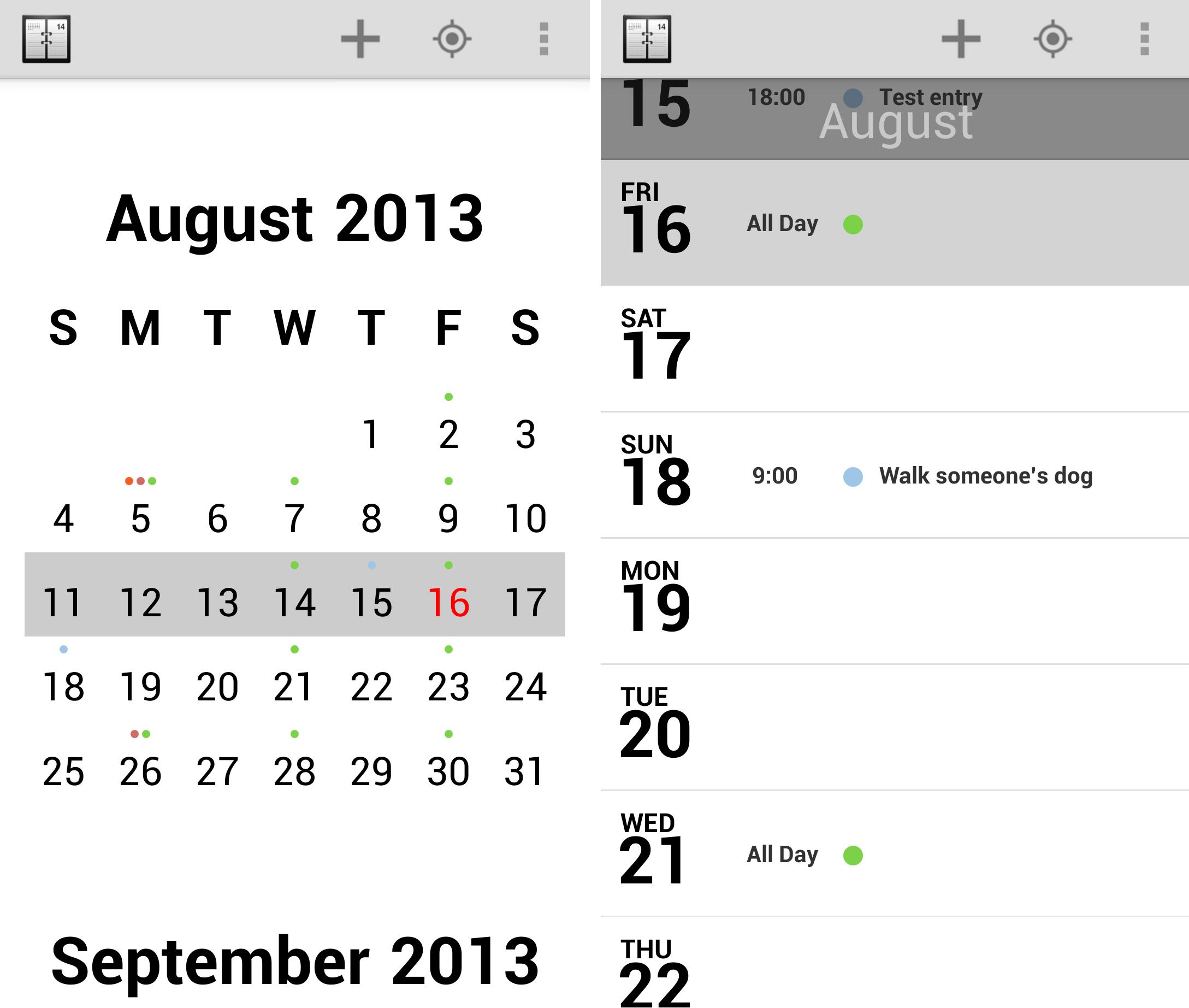 Calendar agenda photo