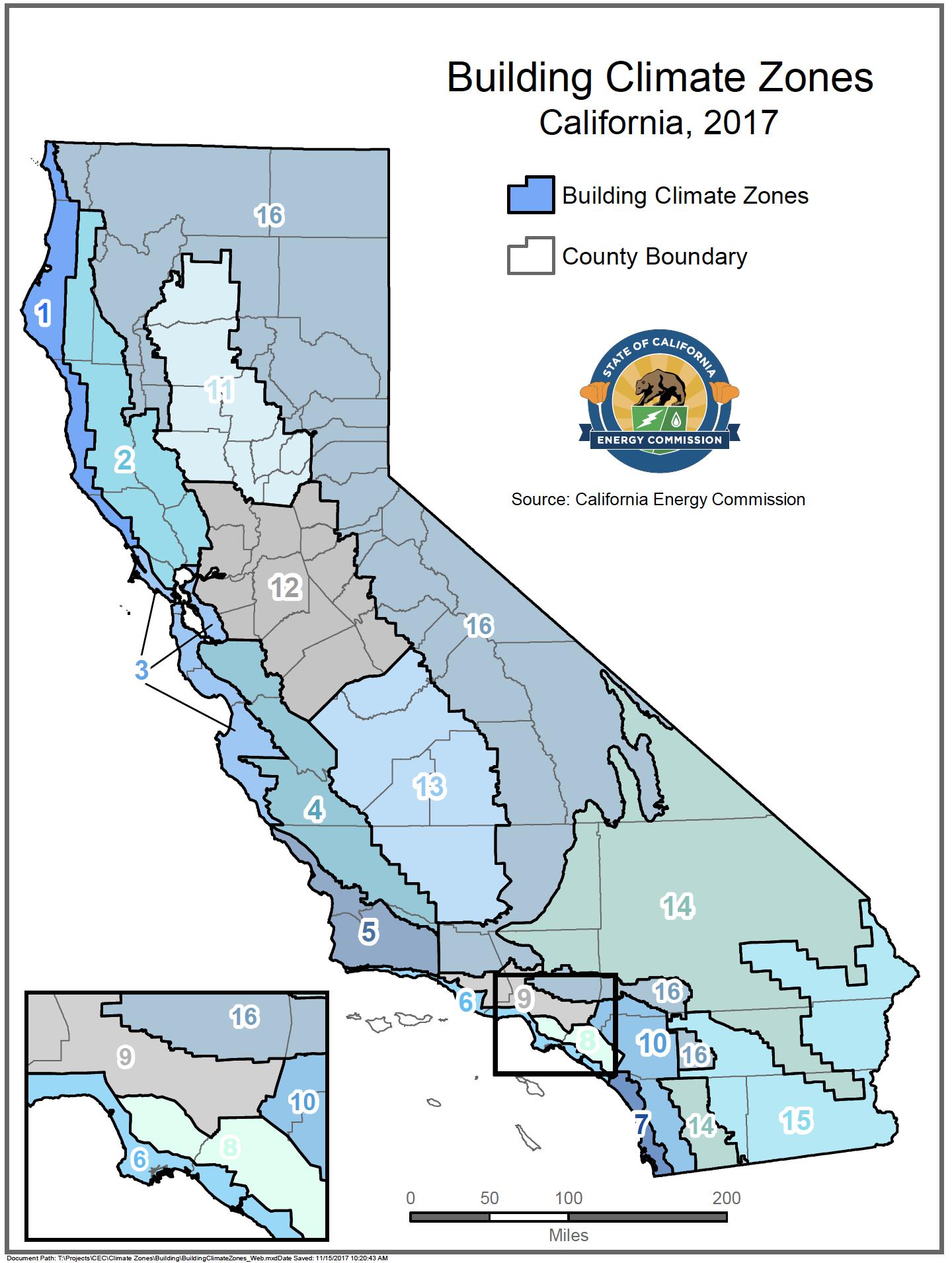 Energy Maps of California - Califonia Energy Commission