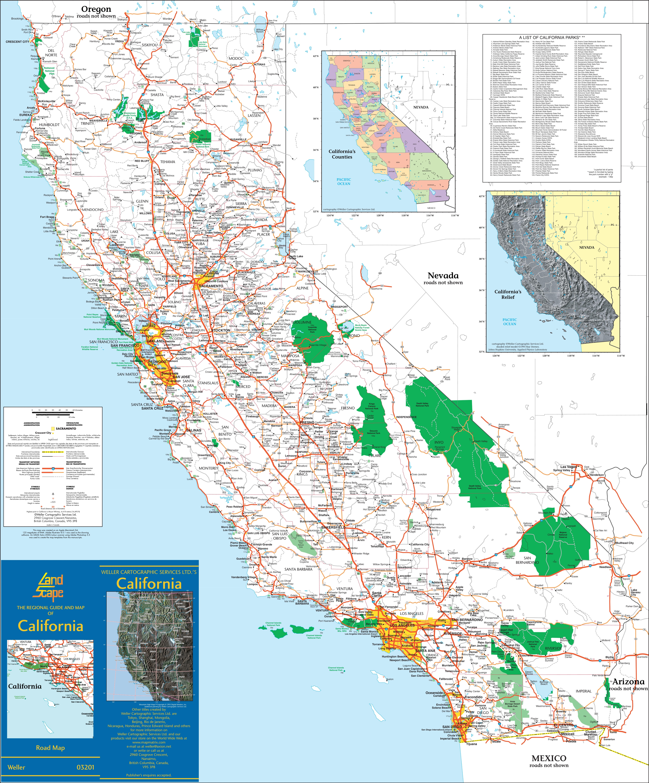 California State Maps   USA   Maps of California (CA)