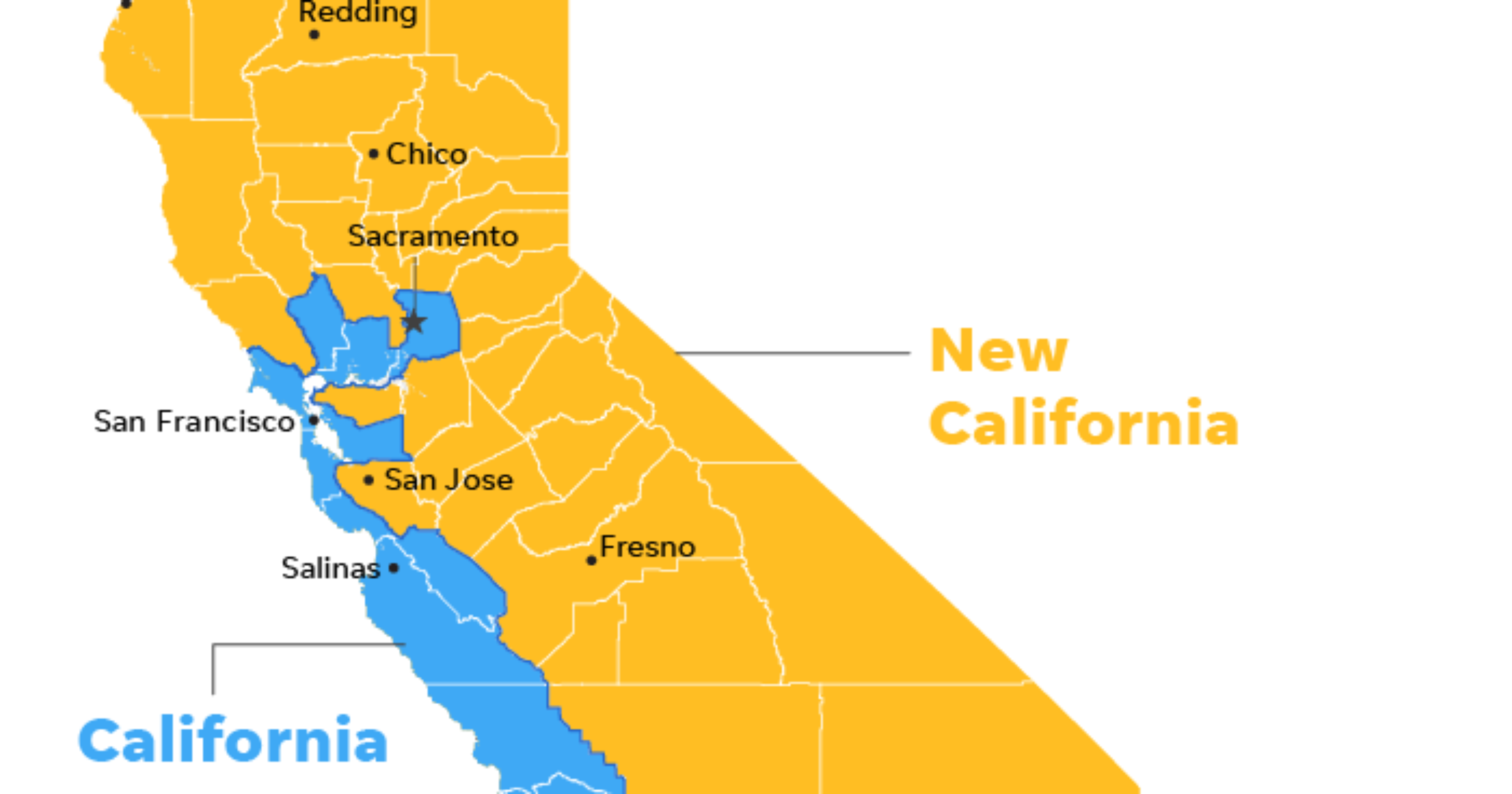 New California declares independence from California in statehood bid